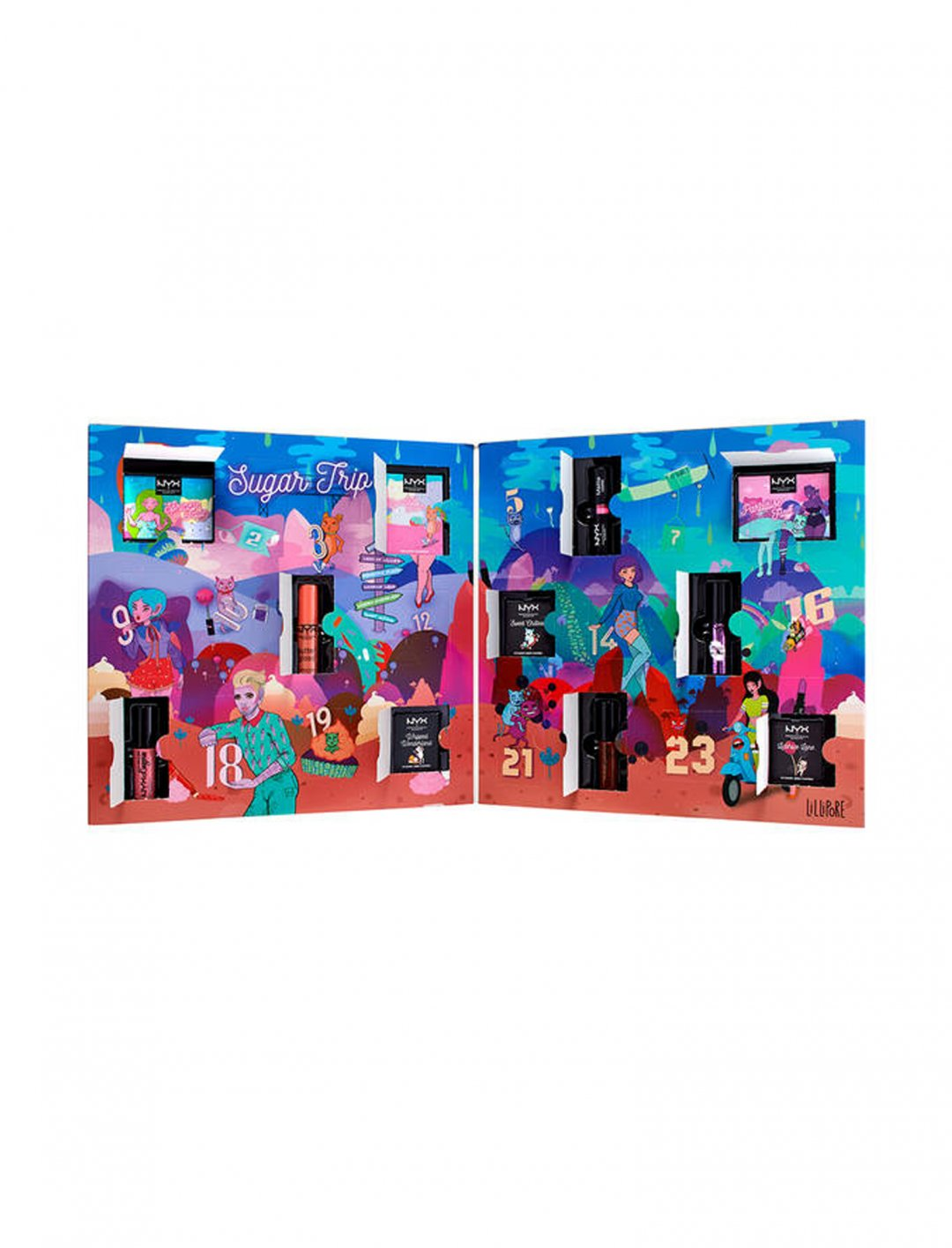 "Beauty Advent Calendar {""id"":2,""product_section_id"":1,""name"":""Beauty"",""order"":2} NYX Professional Makeup"