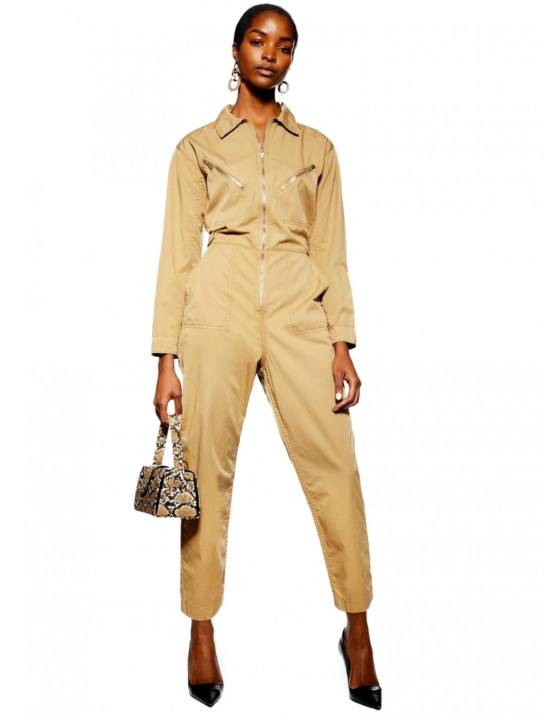 "Beige Boilersuit {""id"":5,""product_section_id"":1,""name"":""Clothing"",""order"":5} Topshop"