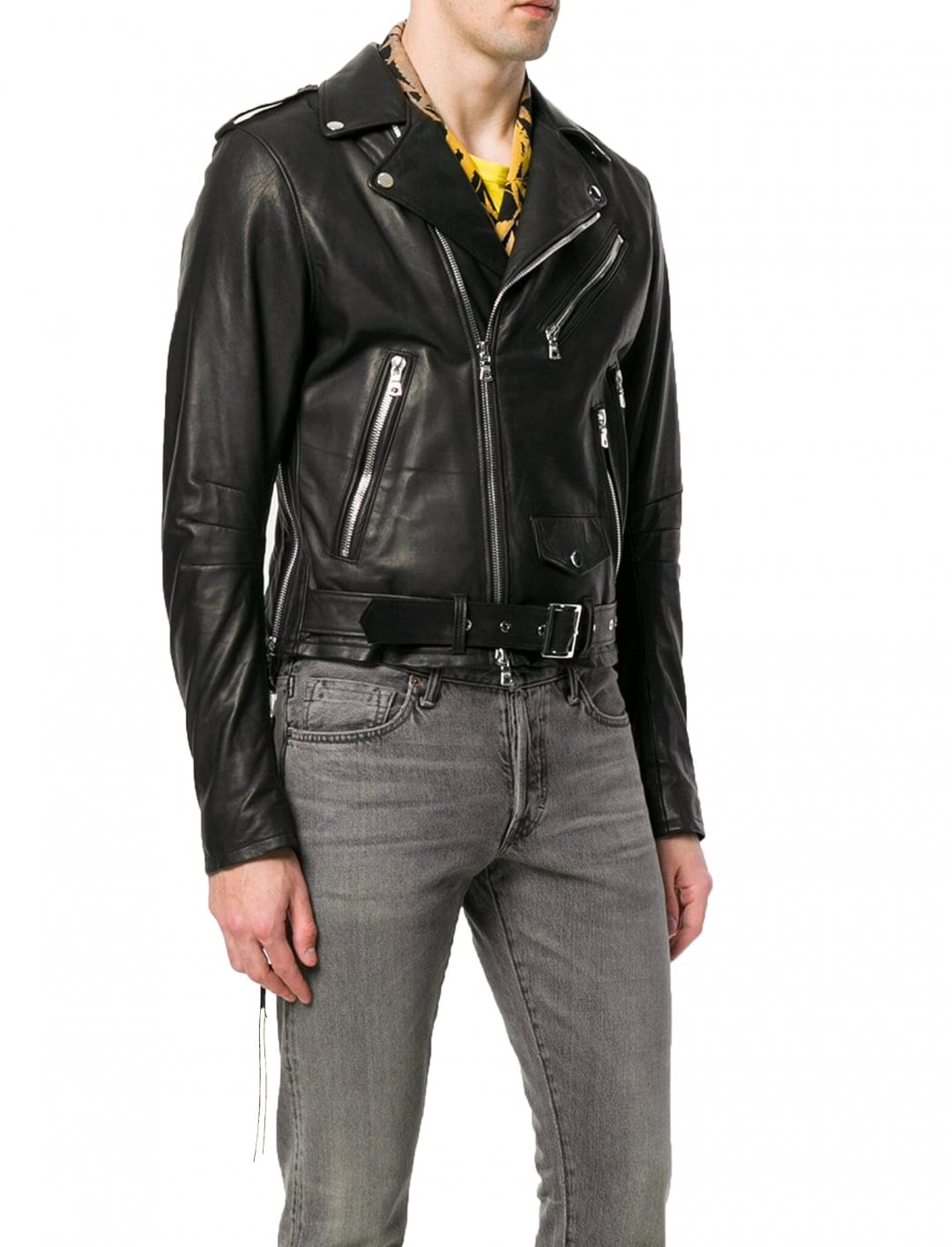 "Biker Jacket {""id"":5,""product_section_id"":1,""name"":""Clothing"",""order"":5} Amiri"