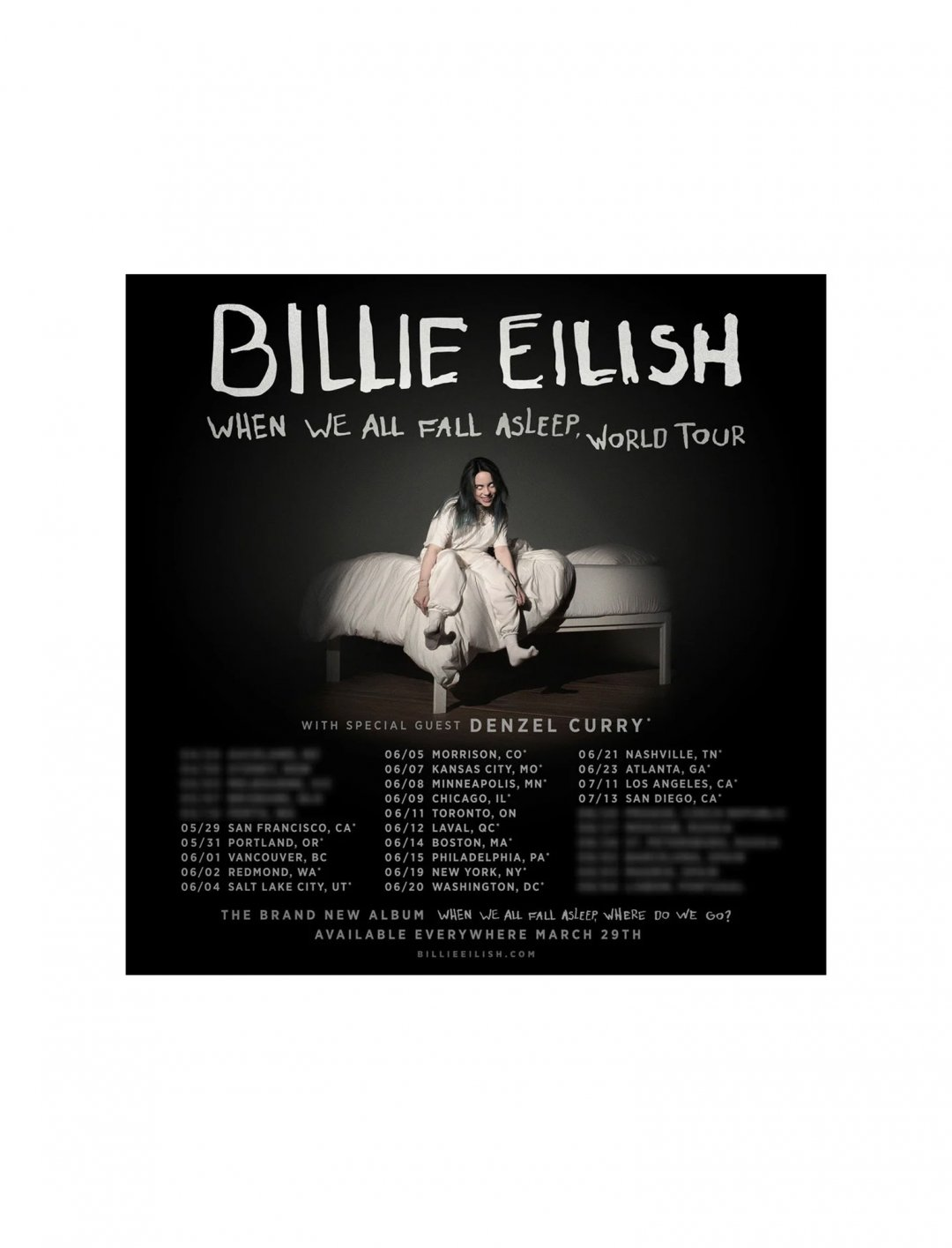 "Billie Eilish Tour Tickets {""id"":3,""product_section_id"":1,""name"":""Booking & Tickets"",""order"":3} Ticketmaster"