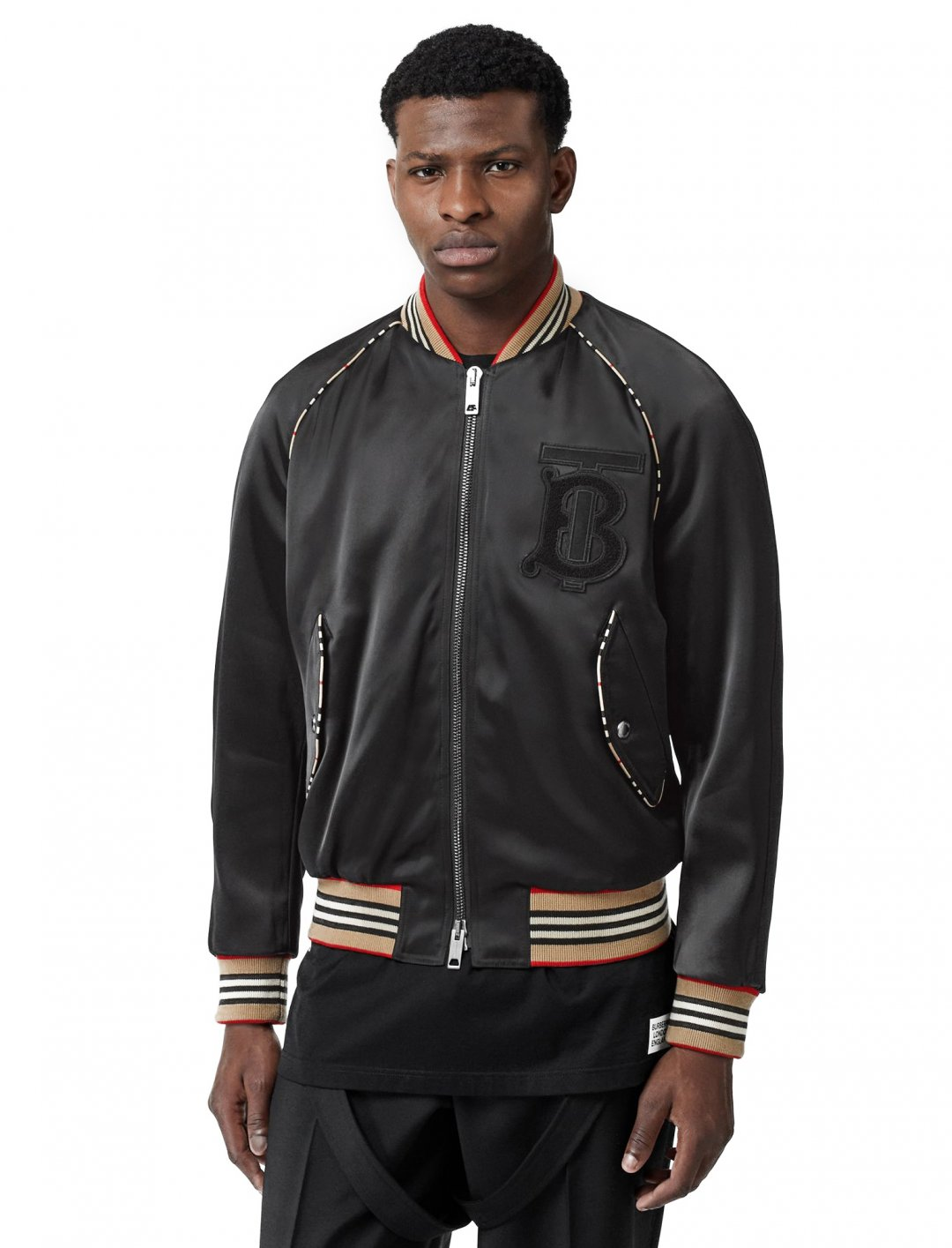 "Bomber Jacket {""id"":5,""product_section_id"":1,""name"":""Clothing"",""order"":5} Burberry"