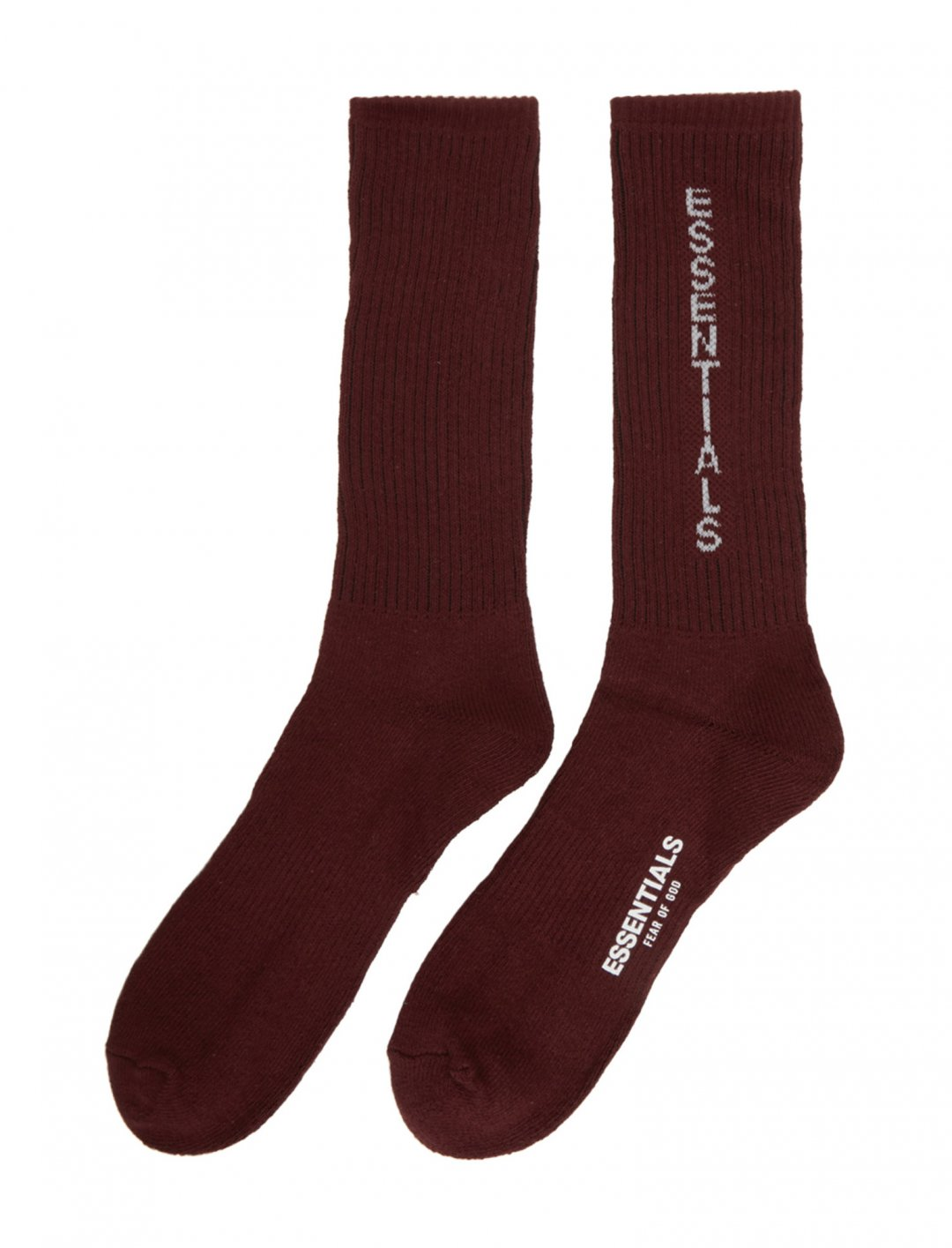 "Burgundy Crew Socks {""id"":16,""product_section_id"":1,""name"":""Accessories"",""order"":15} Essentials"