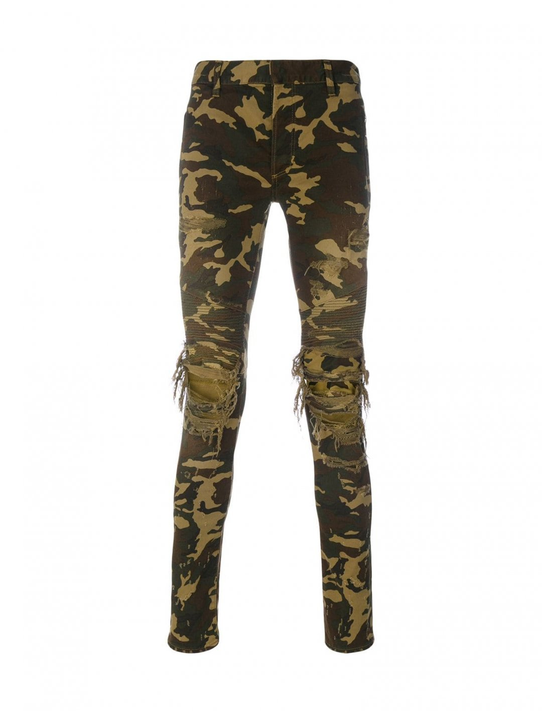"Camouflage Print Jeans {""id"":5,""product_section_id"":1,""name"":""Clothing"",""order"":5} Balmain"