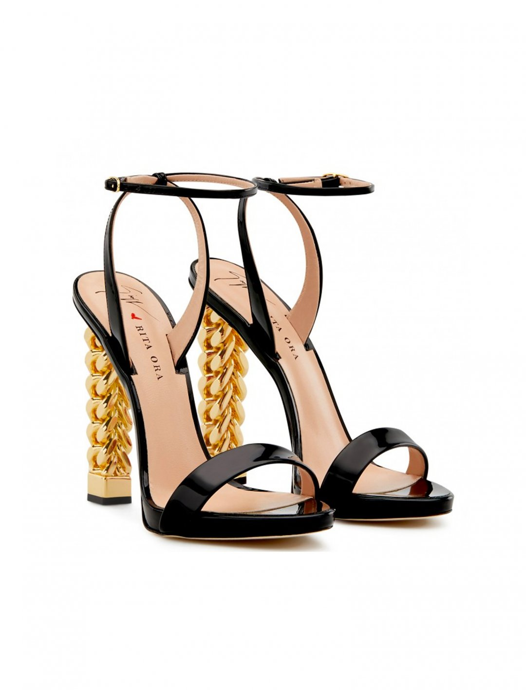 "'Cathy' Sandals {""id"":12,""product_section_id"":1,""name"":""Shoes"",""order"":12} Giuseppe Zanotti x Rita Ora"