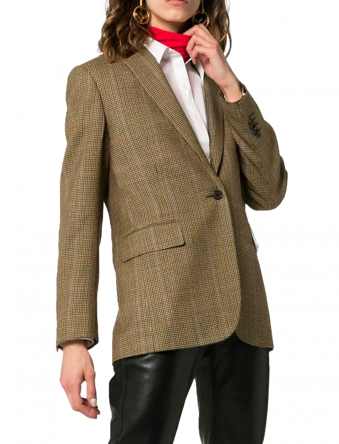"Check Blazer {""id"":5,""product_section_id"":1,""name"":""Clothing"",""order"":5} Calvin Klein"