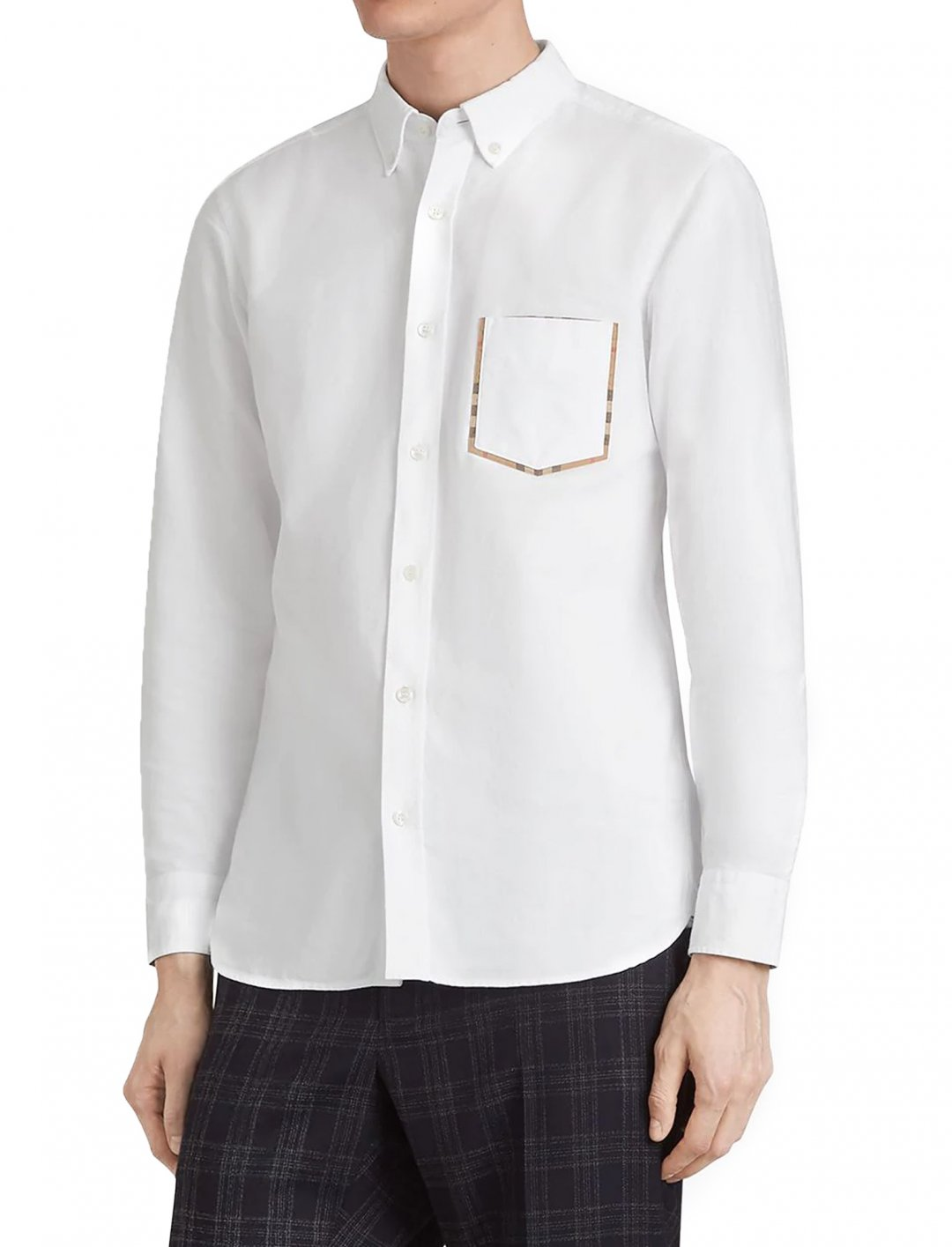 "Check Detail Shirt {""id"":5,""product_section_id"":1,""name"":""Clothing"",""order"":5} Burberry"