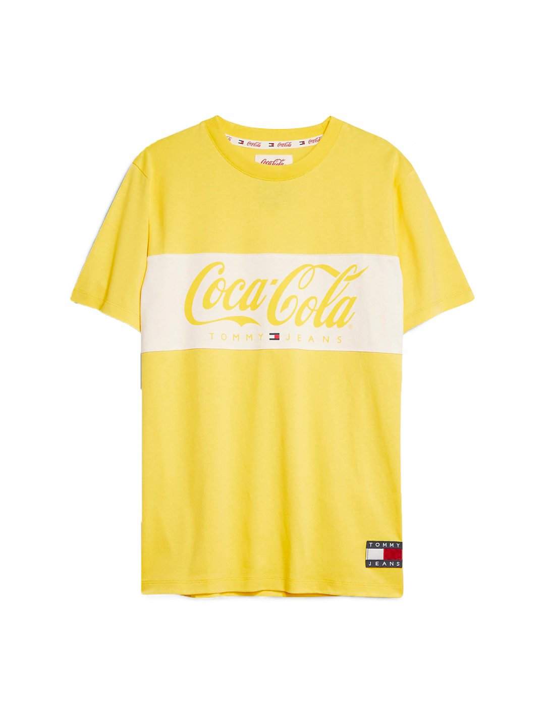 "Coca Cola T-shirt {""id"":5,""product_section_id"":1,""name"":""Clothing"",""order"":5} Tommy Jeans x Coca Cola"