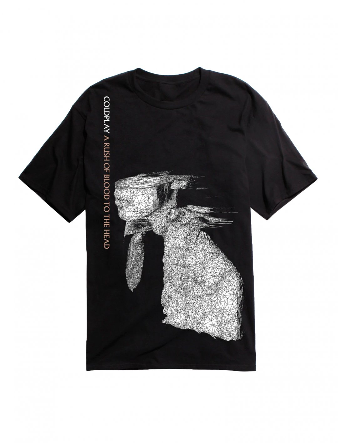 "Coldplay T-shirt {""id"":5,""product_section_id"":1,""name"":""Clothing"",""order"":5} Hot Topic"