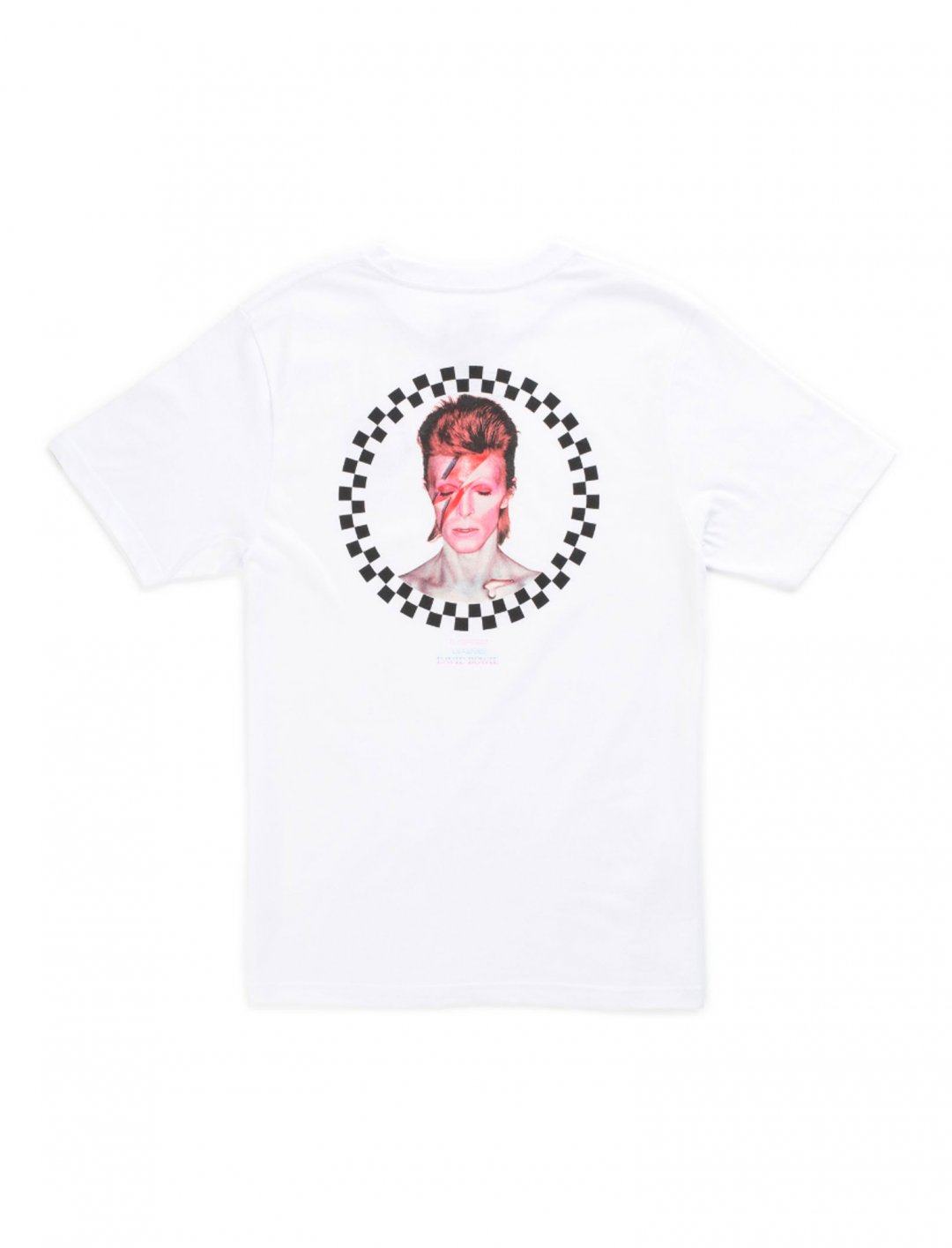 "David Bowie T-shirt {""id"":5,""product_section_id"":1,""name"":""Clothing"",""order"":5} Vans"