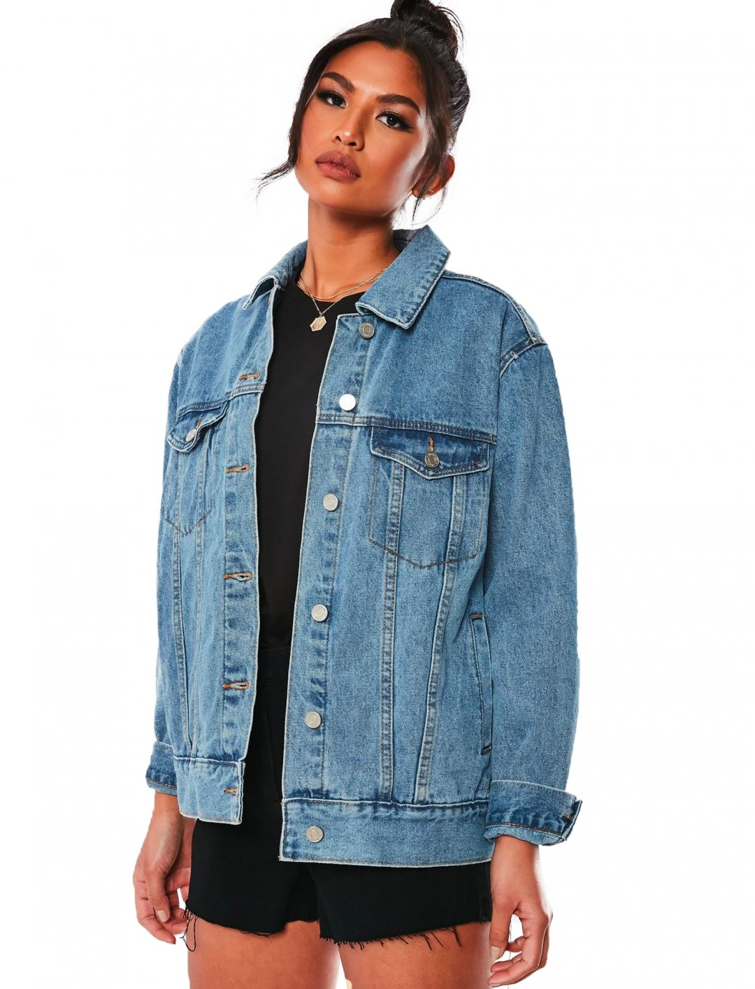 "Denim Jacket {""id"":5,""product_section_id"":1,""name"":""Clothing"",""order"":5} Missguided"