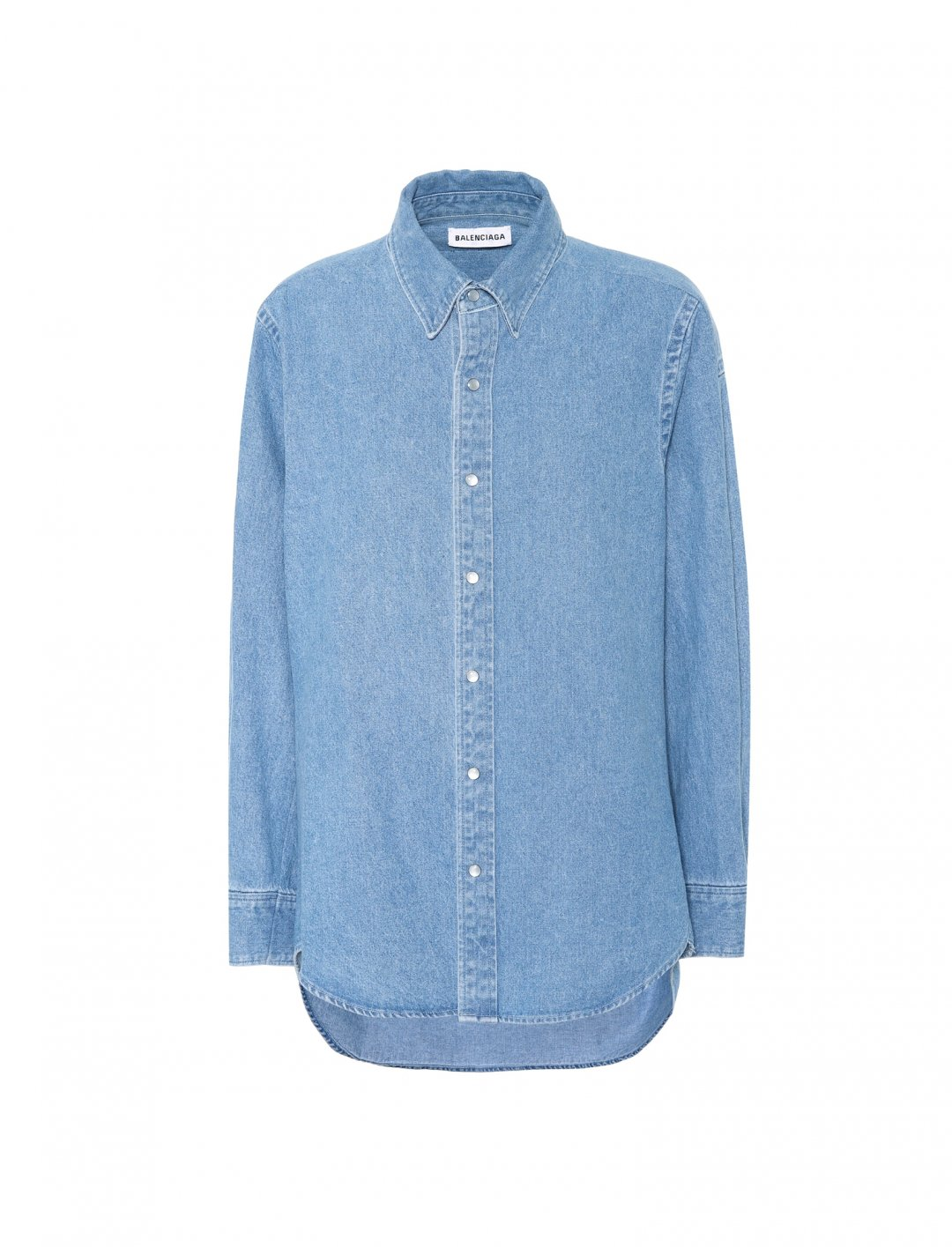 "Denim Shirt {""id"":5,""product_section_id"":1,""name"":""Clothing"",""order"":5} Balenciaga"