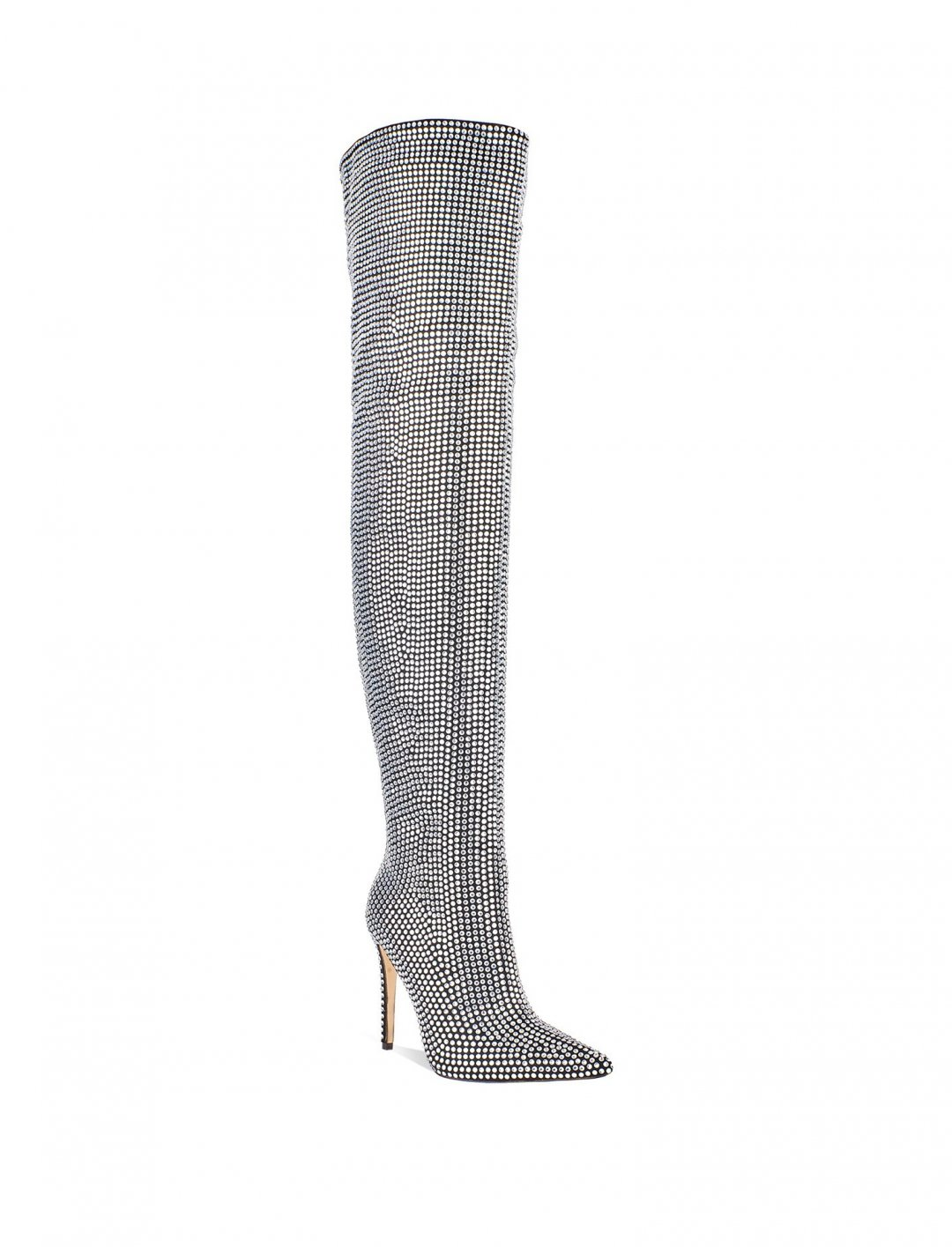 "Diamante Embellished Boots {""id"":5,""product_section_id"":1,""name"":""Clothing"",""order"":5} La Moda"