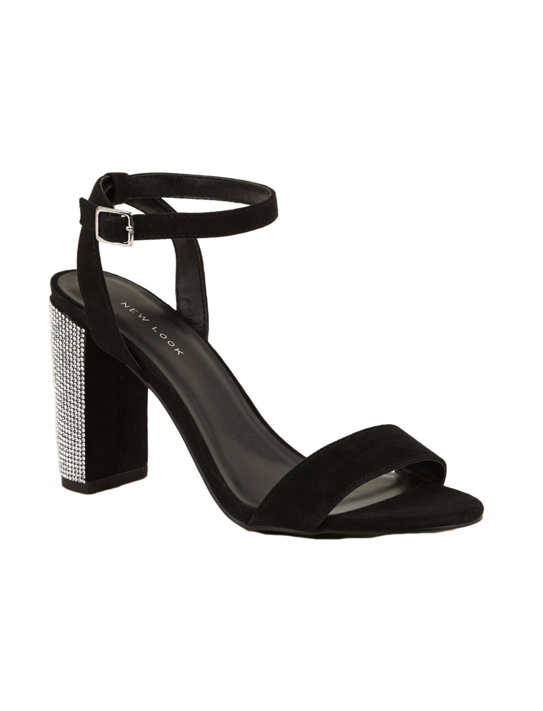 "Diamante Heel Sandals {""id"":12,""product_section_id"":1,""name"":""Shoes"",""order"":12} New Look"