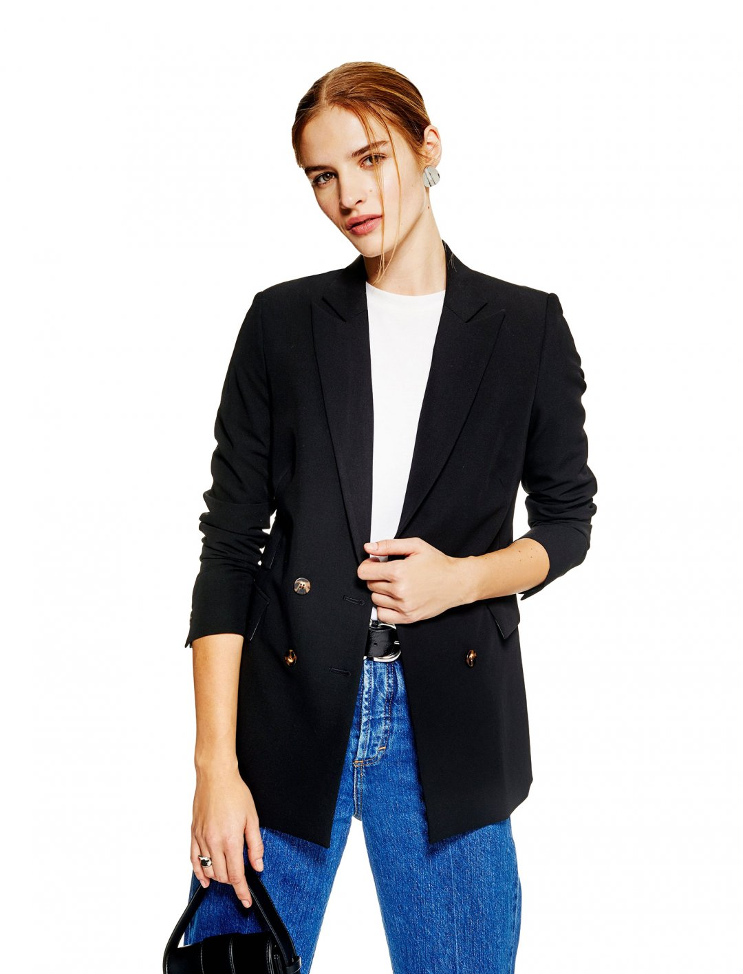 "Double Breasted Jacket {""id"":5,""product_section_id"":1,""name"":""Clothing"",""order"":5} Topshop"
