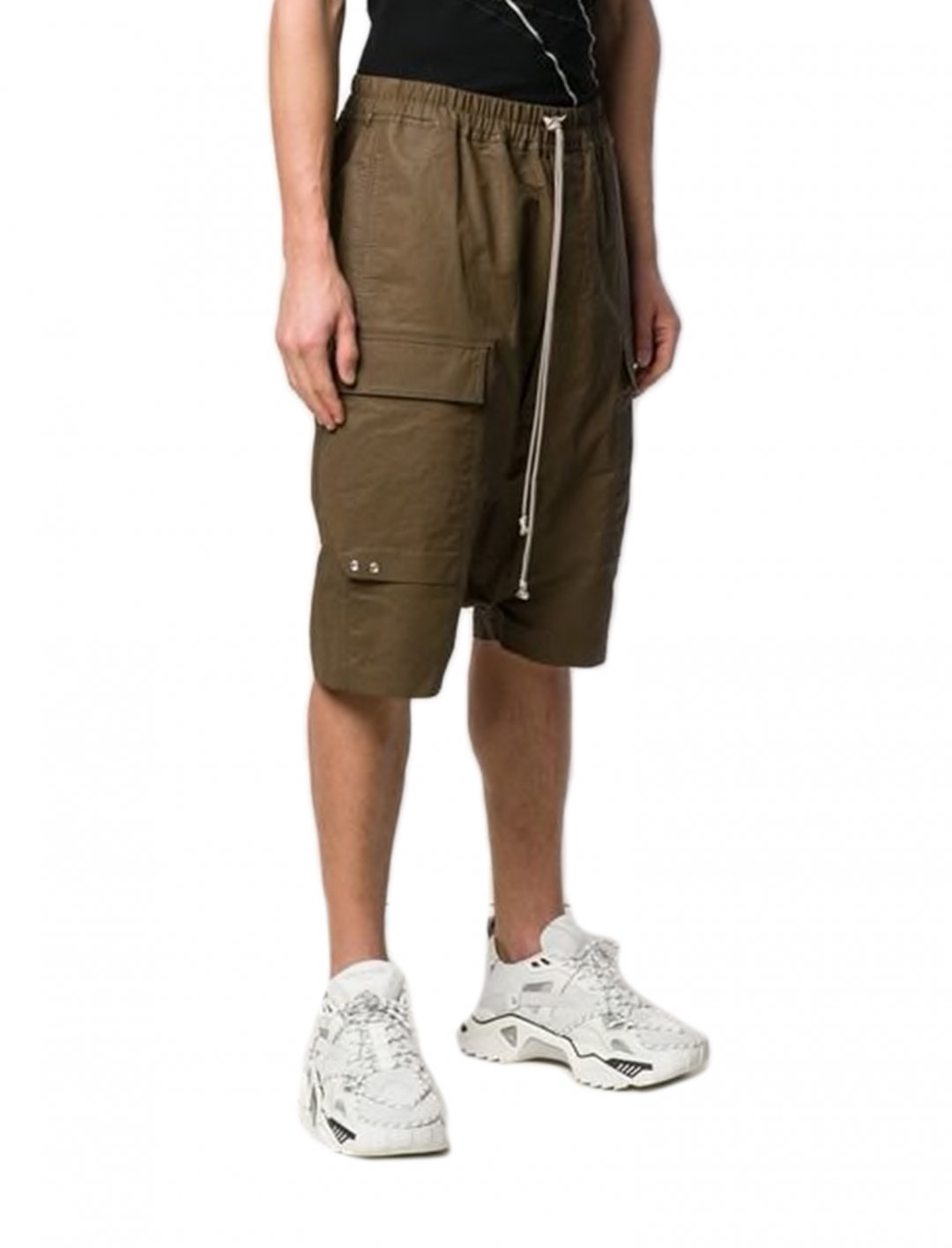 "Drop Crotch Shorts {""id"":5,""product_section_id"":1,""name"":""Clothing"",""order"":5} Rick Owens"