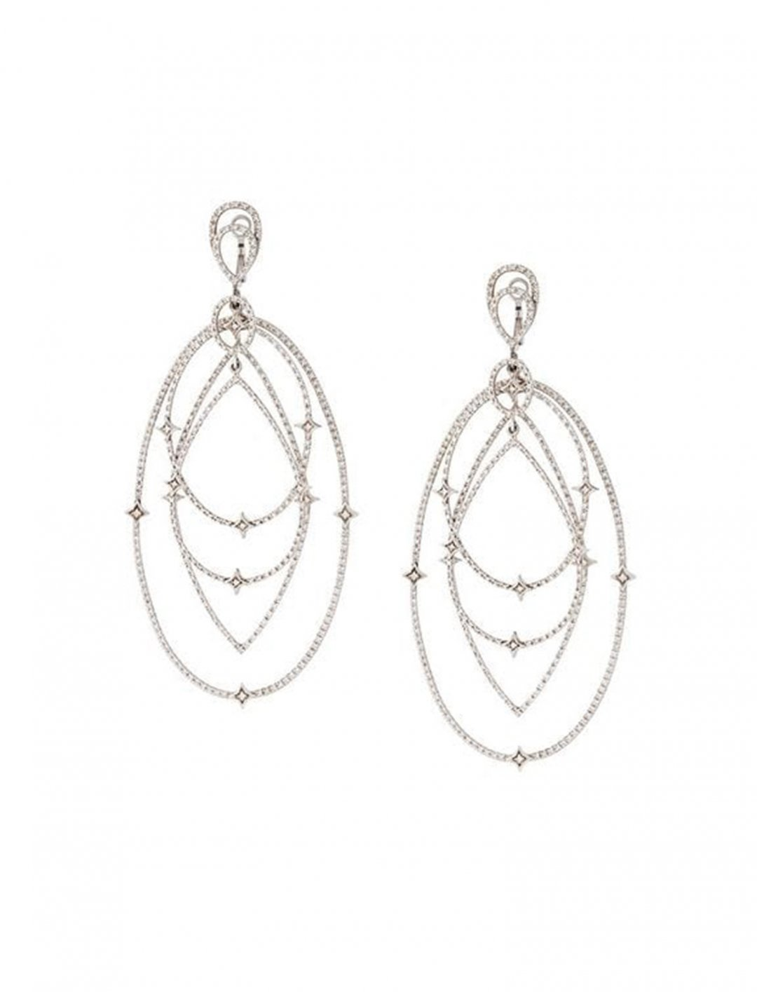 "Drop Diamond Earrings {""id"":10,""product_section_id"":1,""name"":""Jewellery"",""order"":10} Loree Rodkin"