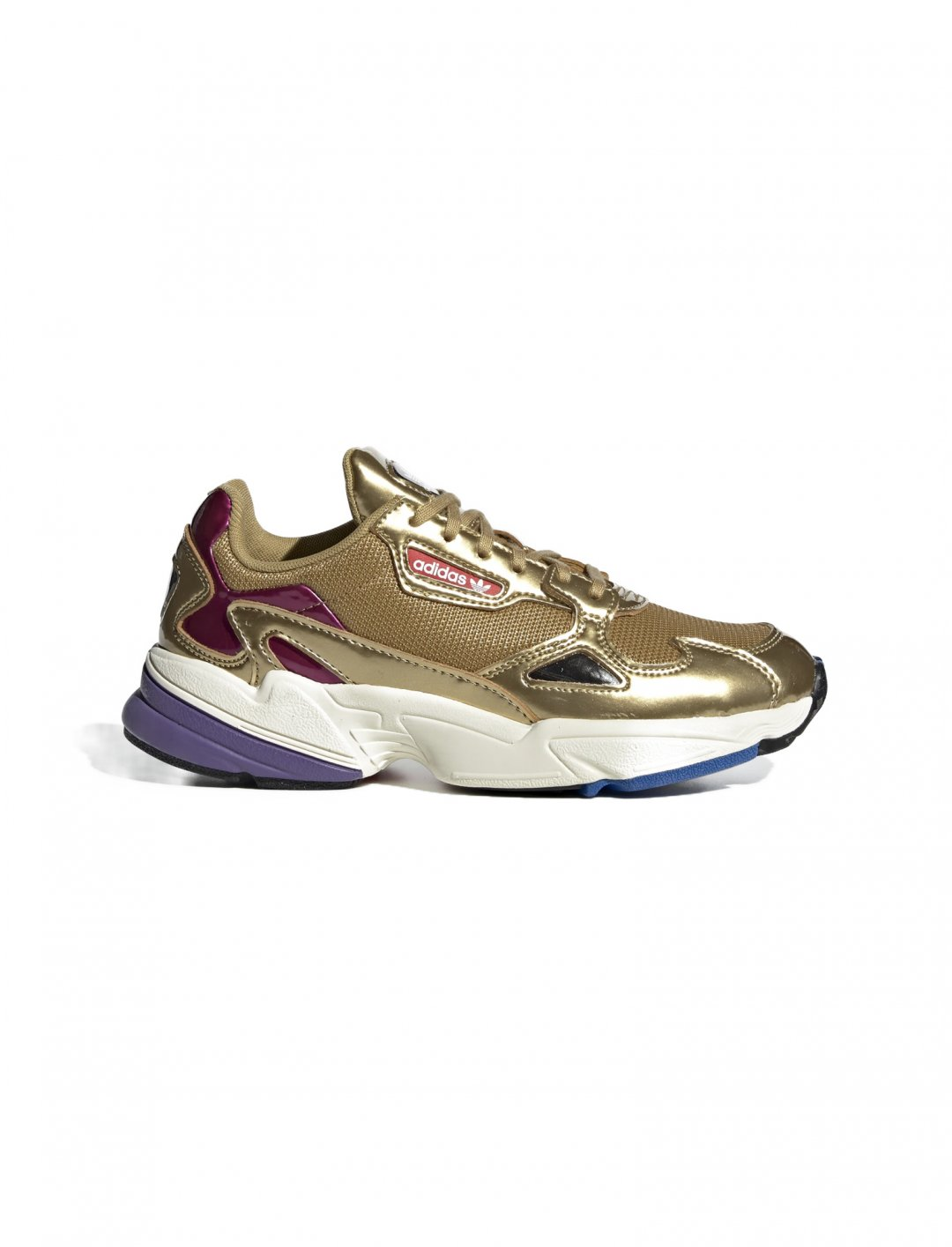 "Falcon Shoes In Gold {""id"":12,""product_section_id"":1,""name"":""Shoes"",""order"":12} adidas"
