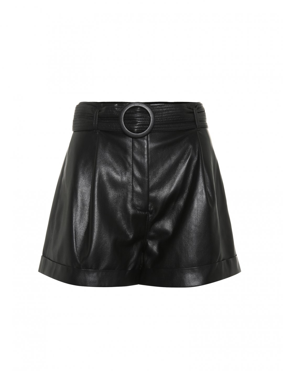 "Faux Leather Shorts {""id"":5,""product_section_id"":1,""name"":""Clothing"",""order"":5} Nanushka x Mytheresa"