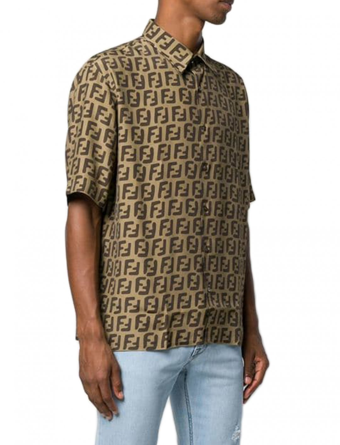 "FF Logo Shirt {""id"":5,""product_section_id"":1,""name"":""Clothing"",""order"":5} Fendi"