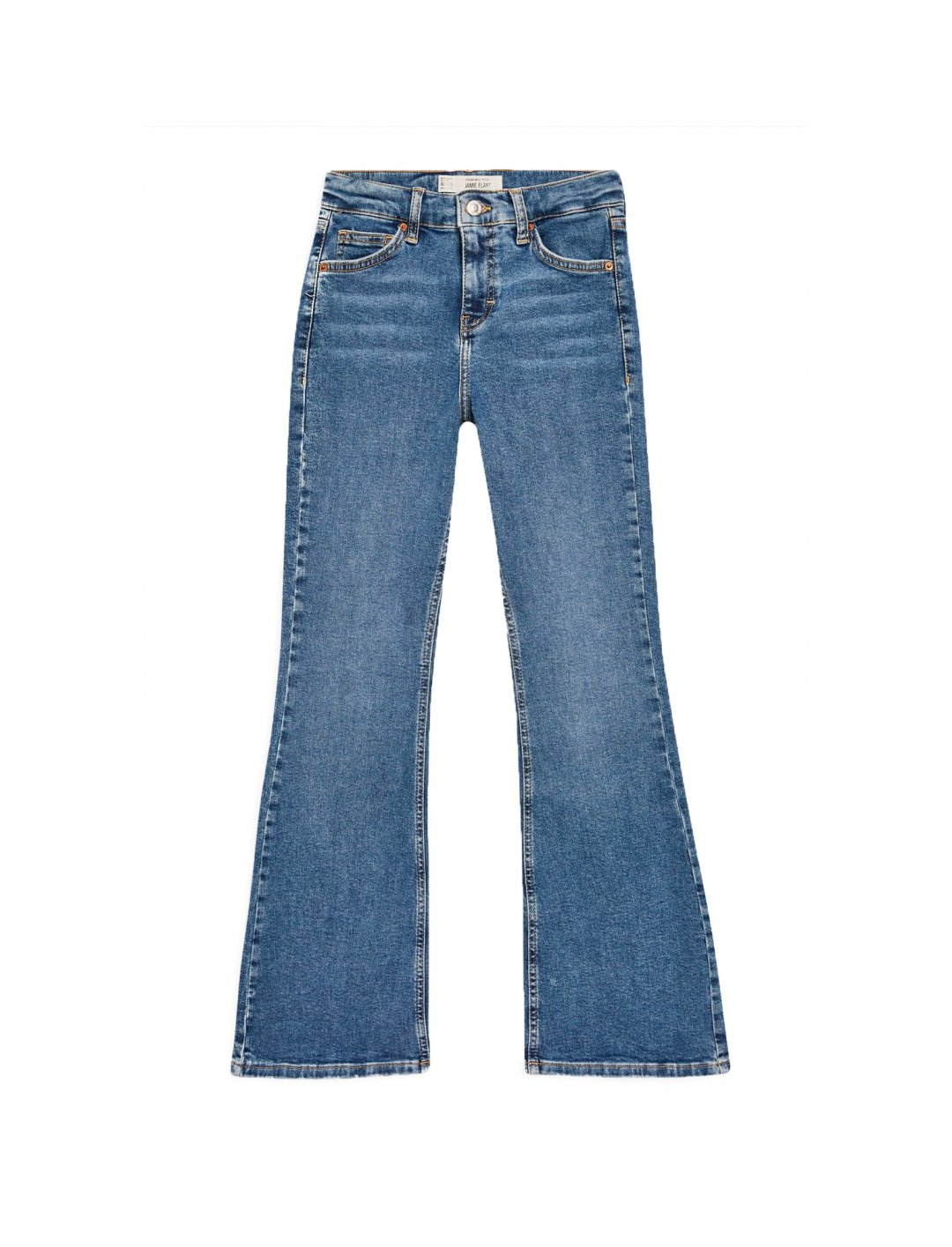 "Flared Jeans {""id"":5,""product_section_id"":1,""name"":""Clothing"",""order"":5} Topshop"