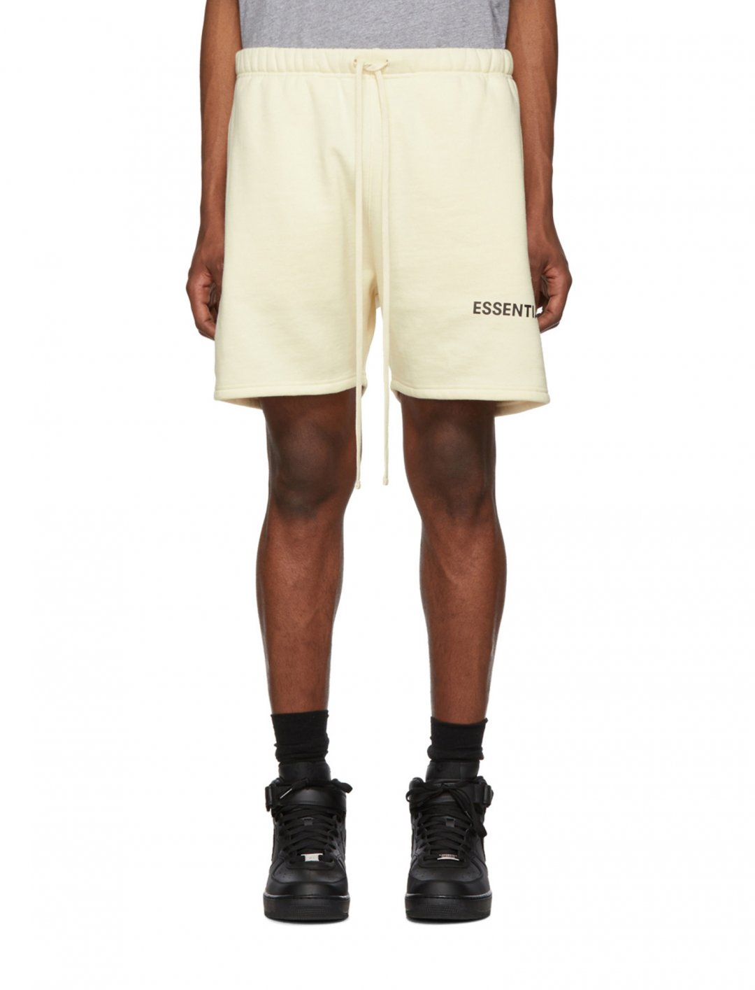 "Fleece Sweat Shorts {""id"":15,""product_section_id"":1,""name"":""Other"",""order"":0} Essentials"