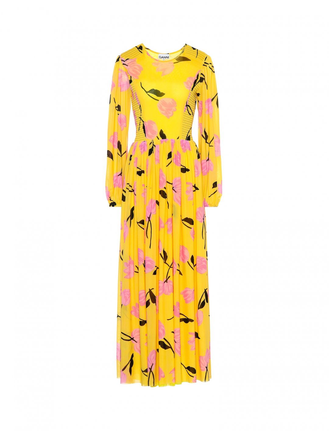 "Floral Maxi Dress {""id"":12,""product_section_id"":1,""name"":""Shoes"",""order"":12} GANNI x mytheresa.com"
