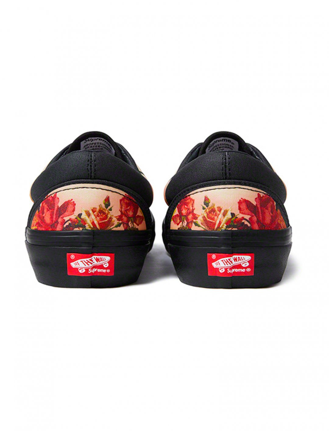 "Floral Print Era Shoes {""id"":12,""product_section_id"":1,""name"":""Shoes"",""order"":12} Jean Paul Gaultier x Supreme"