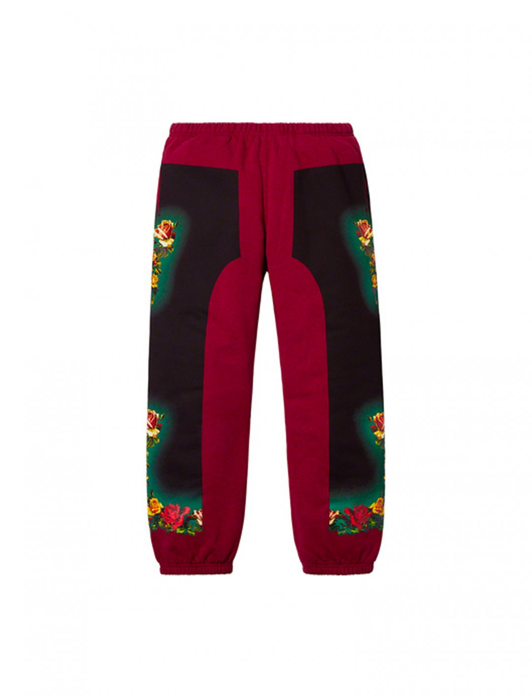 "Floral Print Sweatpant {""id"":5,""product_section_id"":1,""name"":""Clothing"",""order"":5} Jean Paul Gaultier x Supreme"