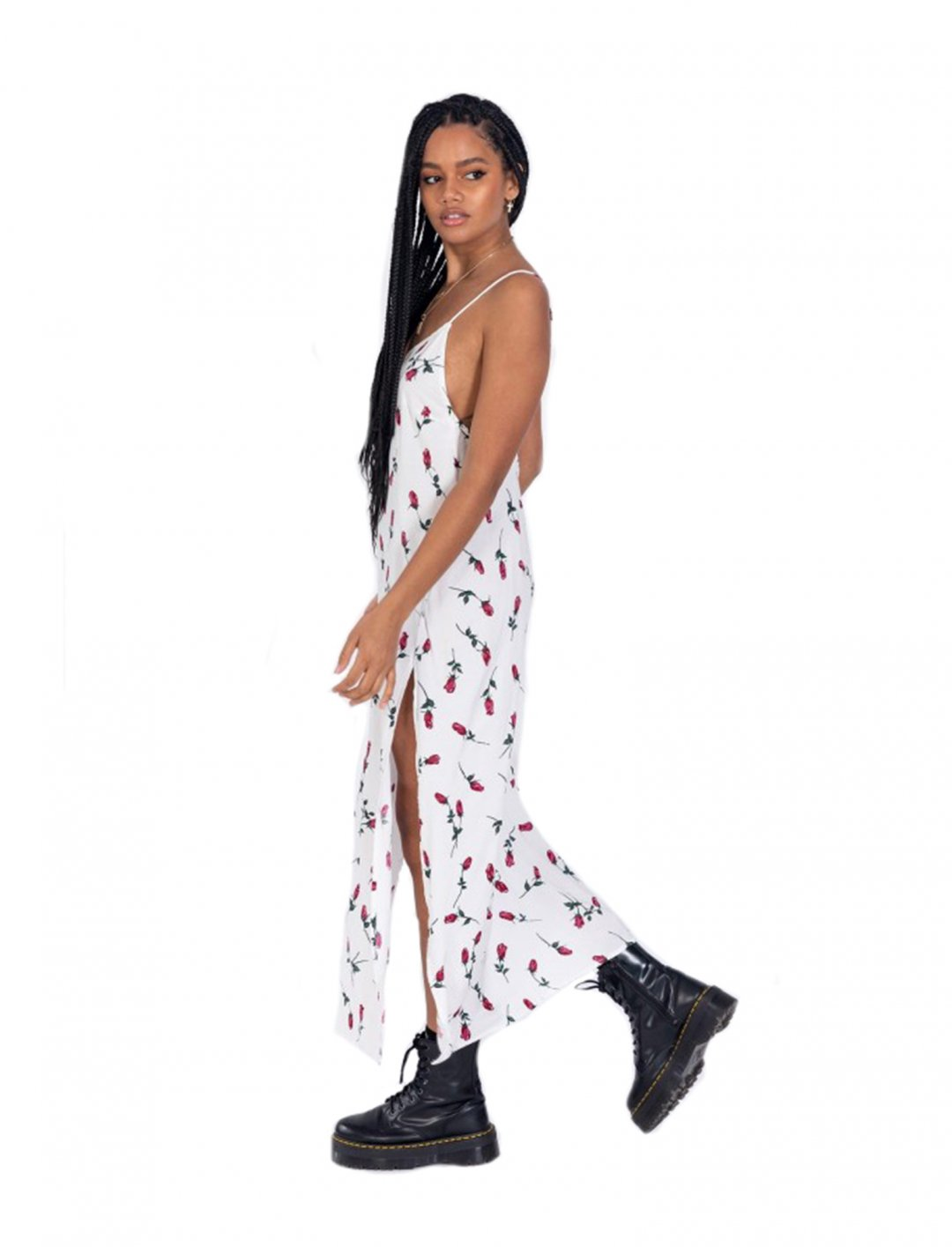 "Floral Slip Dress {""id"":5,""product_section_id"":1,""name"":""Clothing"",""order"":5} Motel"