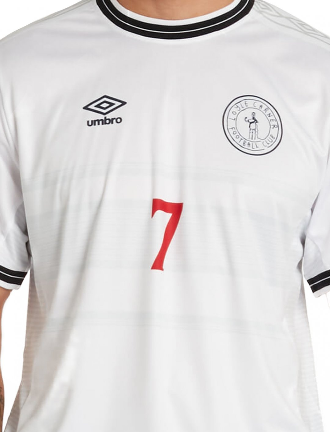 "Football Shirt {""id"":5,""product_section_id"":1,""name"":""Clothing"",""order"":5} Loyle Carner x Umbro"