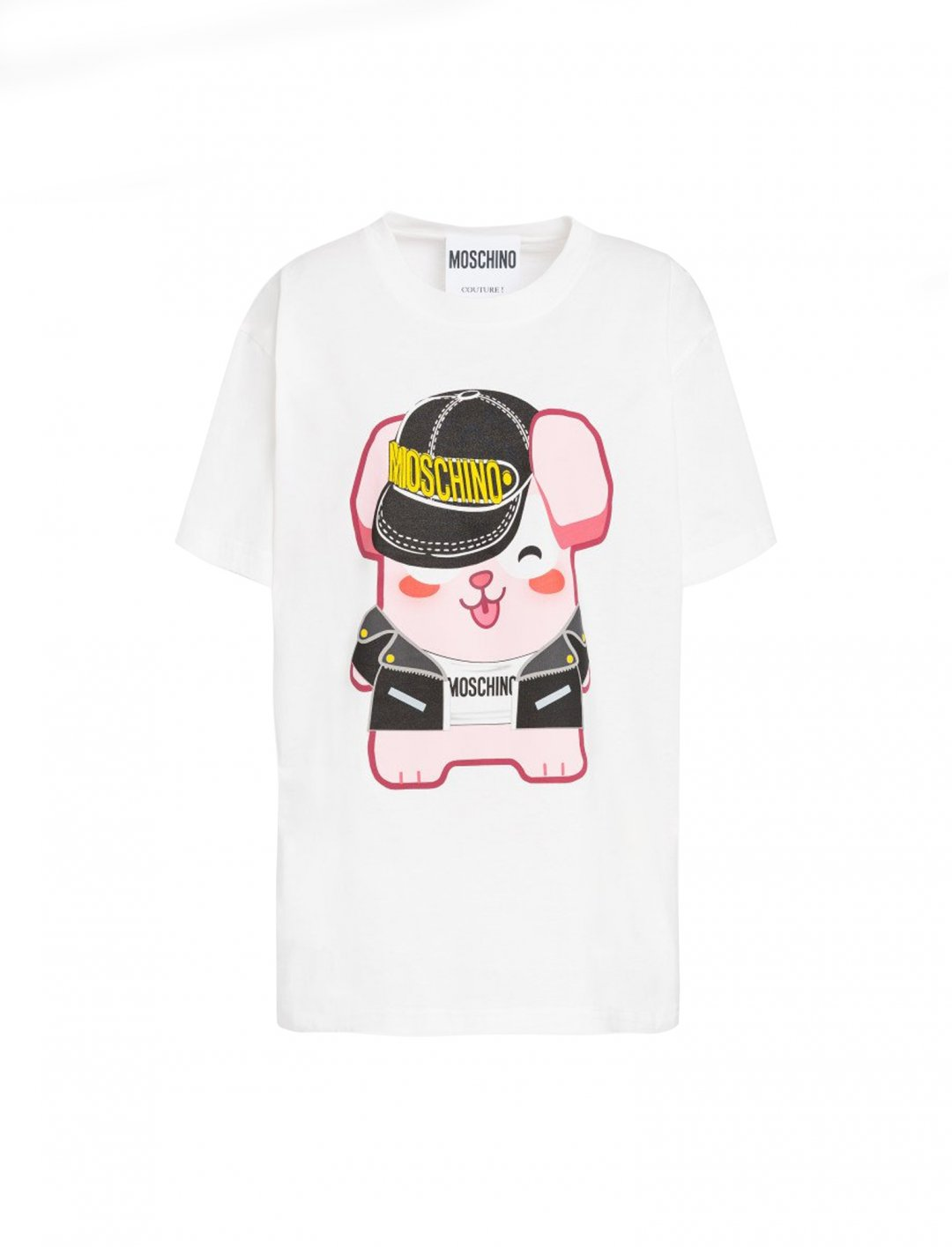 "Freezer Bunny T-shirt {""id"":5,""product_section_id"":1,""name"":""Clothing"",""order"":5} Moschino x The Sims"