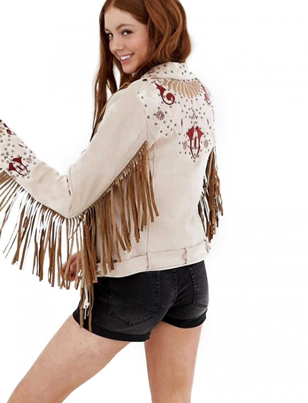 "Fringe Jacket {""id"":5,""product_section_id"":1,""name"":""Clothing"",""order"":5} Glamorous"