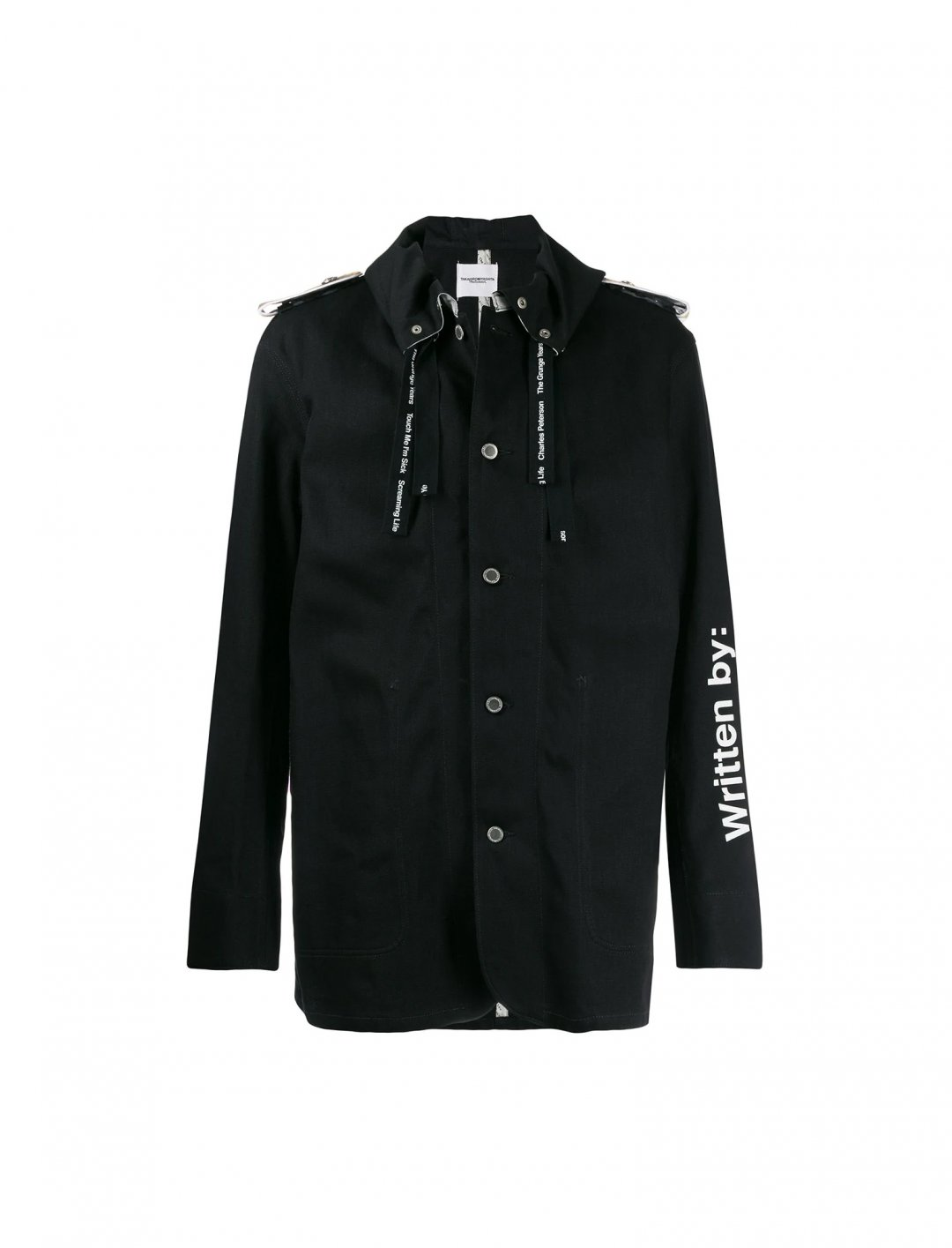 "Graphic Print Coat {""id"":5,""product_section_id"":1,""name"":""Clothing"",""order"":5} Takahiromiyashita The Soloist"