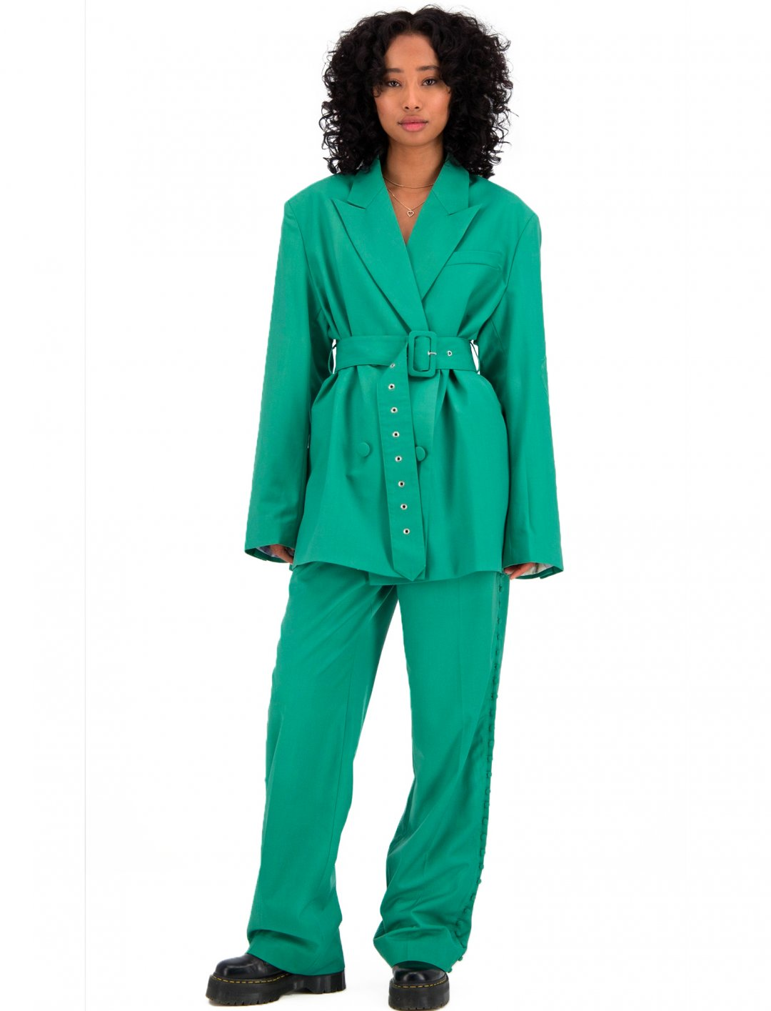 "Green Blazer {""id"":5,""product_section_id"":1,""name"":""Clothing"",""order"":5} Daily Paper"