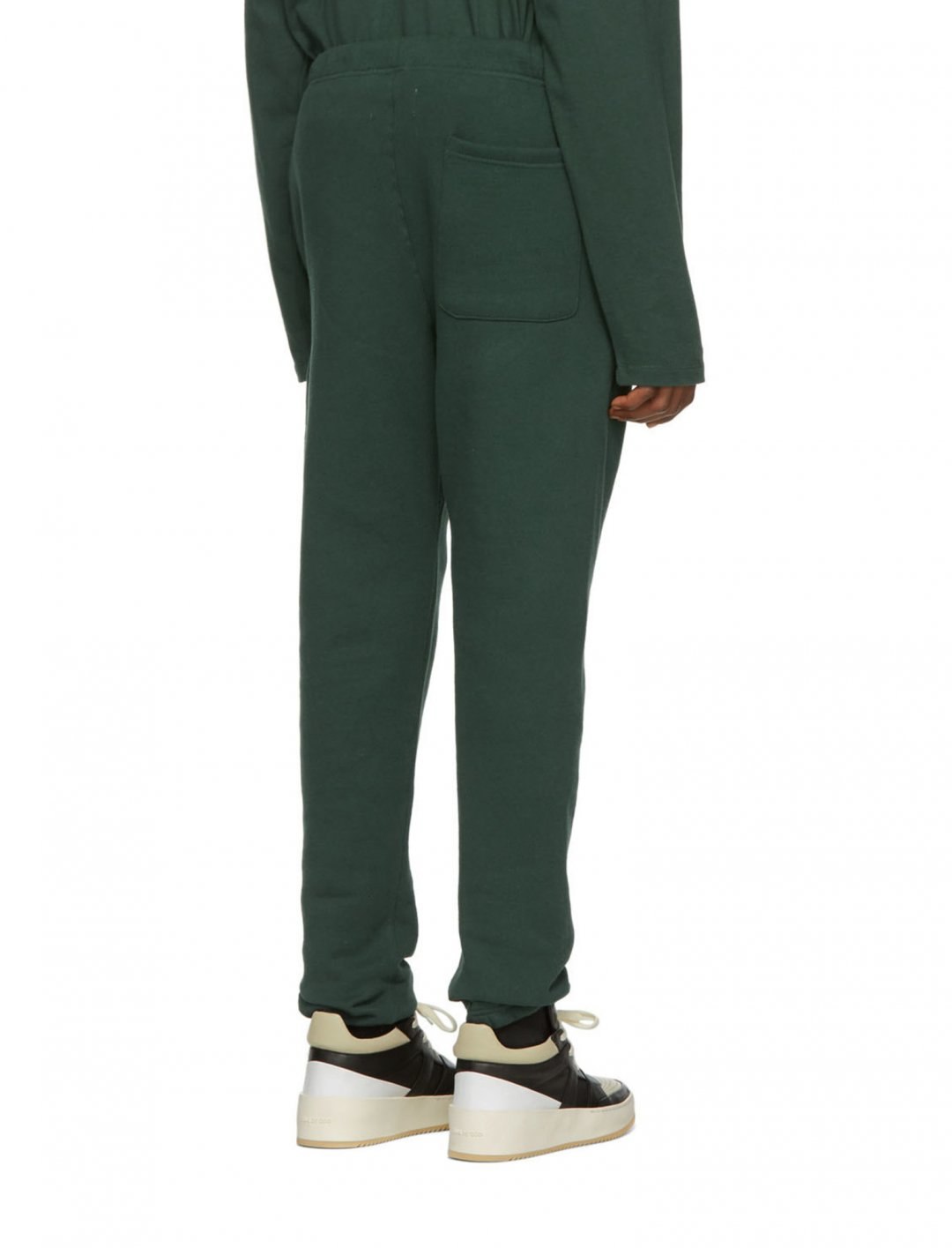 "Green Fleece Sweatpants {""id"":5,""product_section_id"":1,""name"":""Clothing"",""order"":5} Essentials"