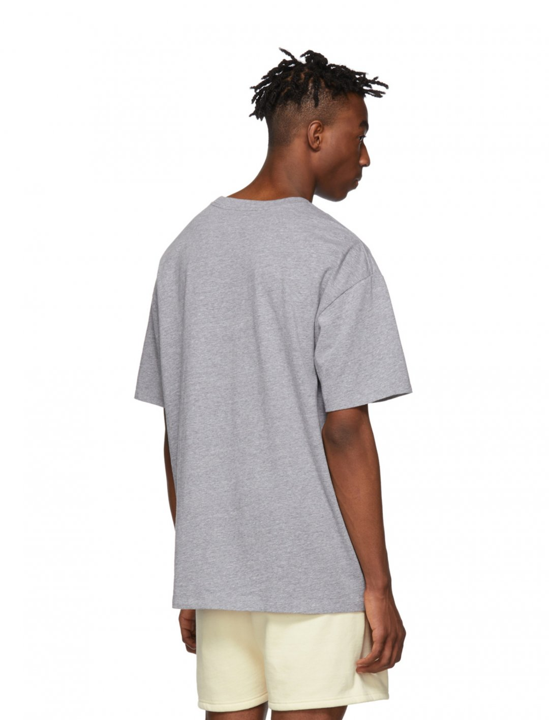 "Grey Logo T-shirt {""id"":5,""product_section_id"":1,""name"":""Clothing"",""order"":5} Essentials"