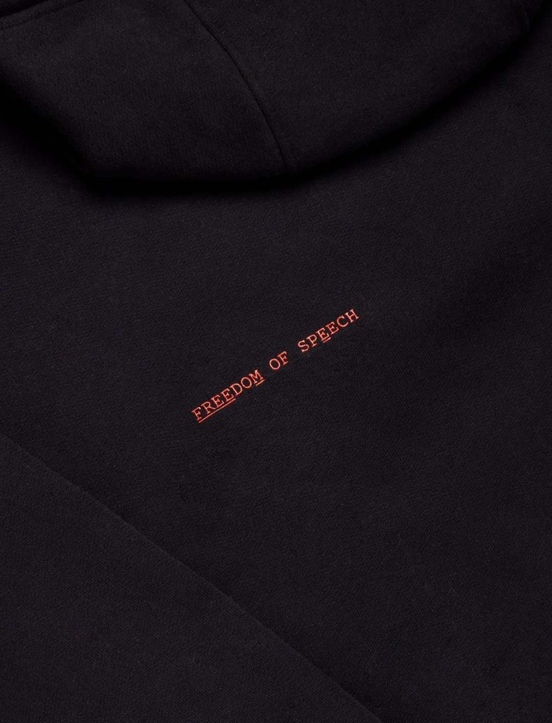 "Freedom Of Speech Hoodie {""id"":5,""product_section_id"":1,""name"":""Clothing"",""order"":5} Post Kulture X Ghetts"
