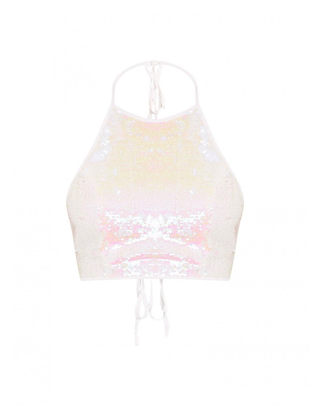 "Halter Neck Top {""id"":5,""product_section_id"":1,""name"":""Clothing"",""order"":5} Pretty Little Thing"