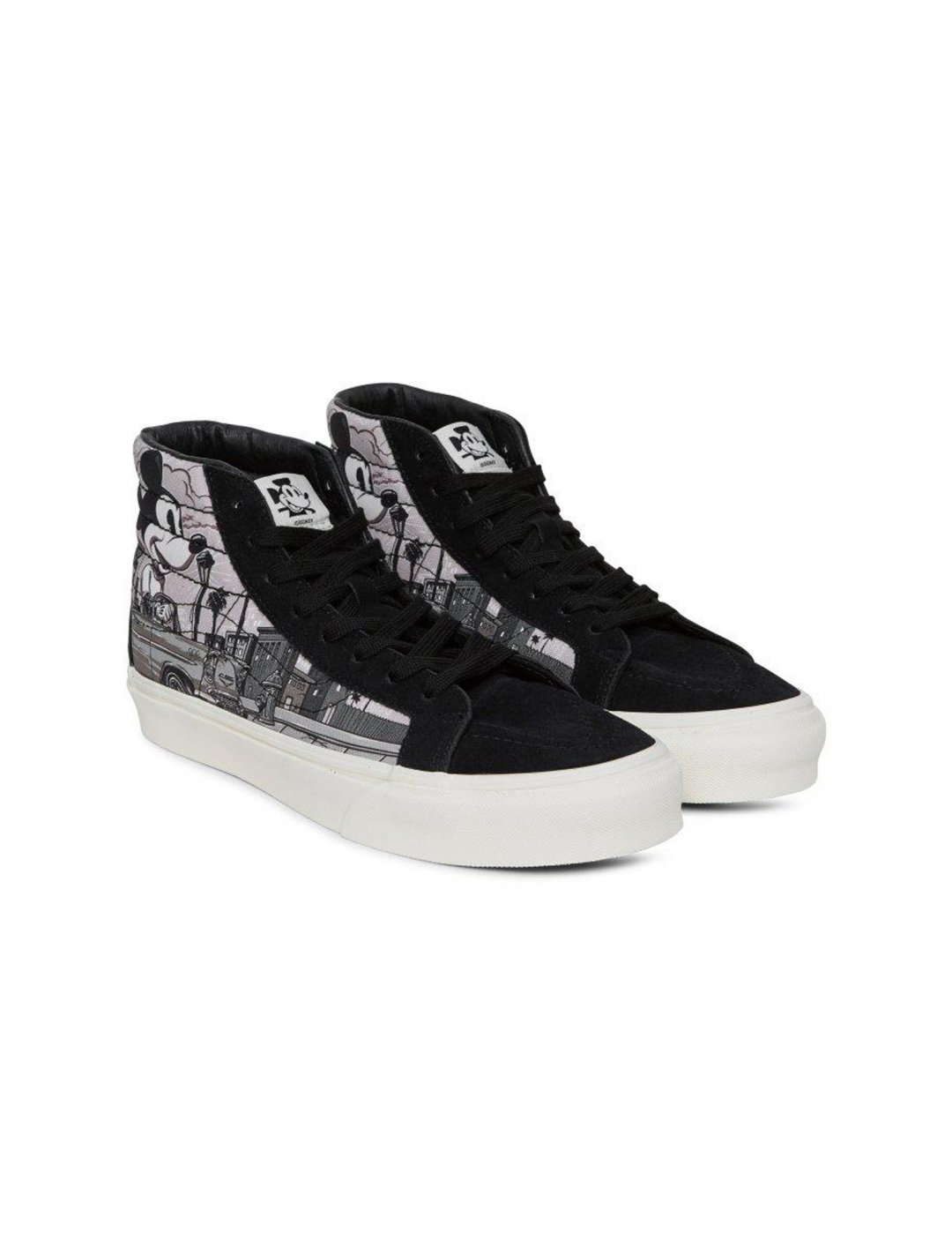"Hi-Top Trainers {""id"":12,""product_section_id"":1,""name"":""Shoes"",""order"":12} Vans x Mickey"
