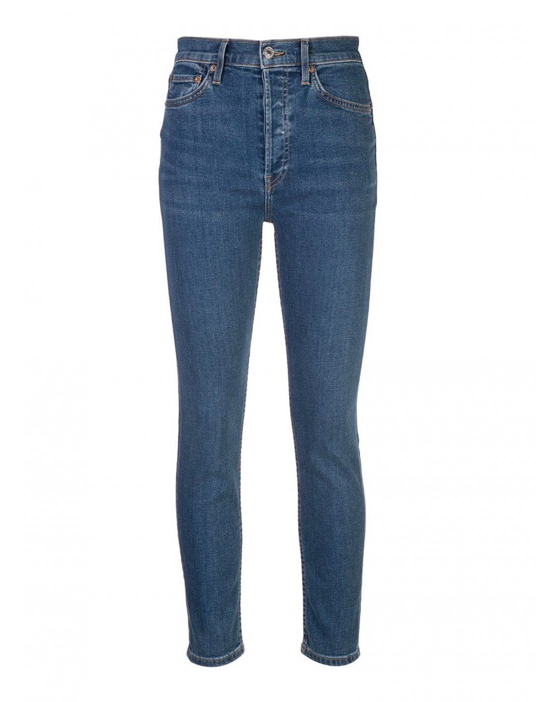 "High Rise Skinny Jeans {""id"":5,""product_section_id"":1,""name"":""Clothing"",""order"":5} Re/Done"