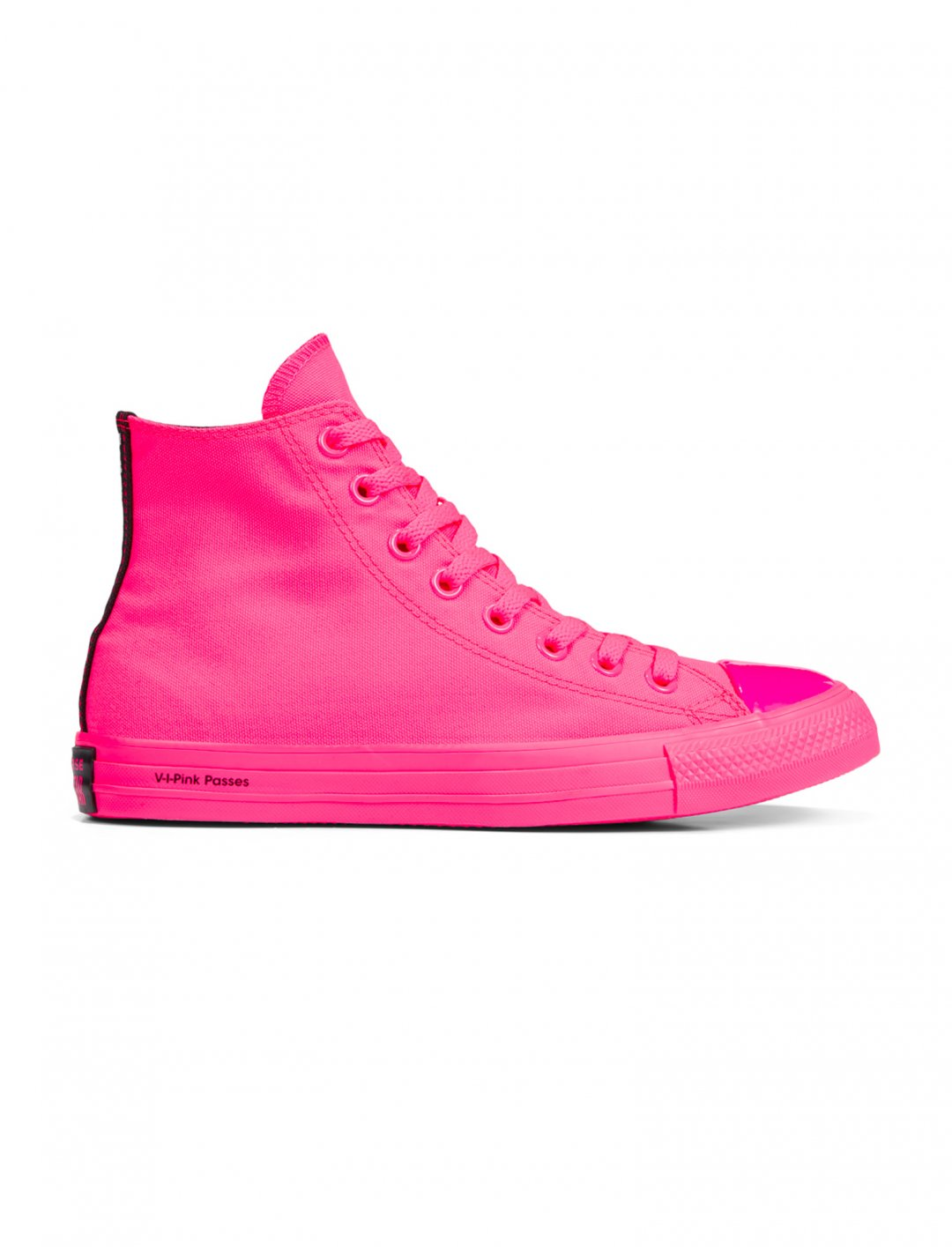 60df84c44c31 Chuck Taylor All Star High Top Trainers, Neon Pink, Converse x OPI