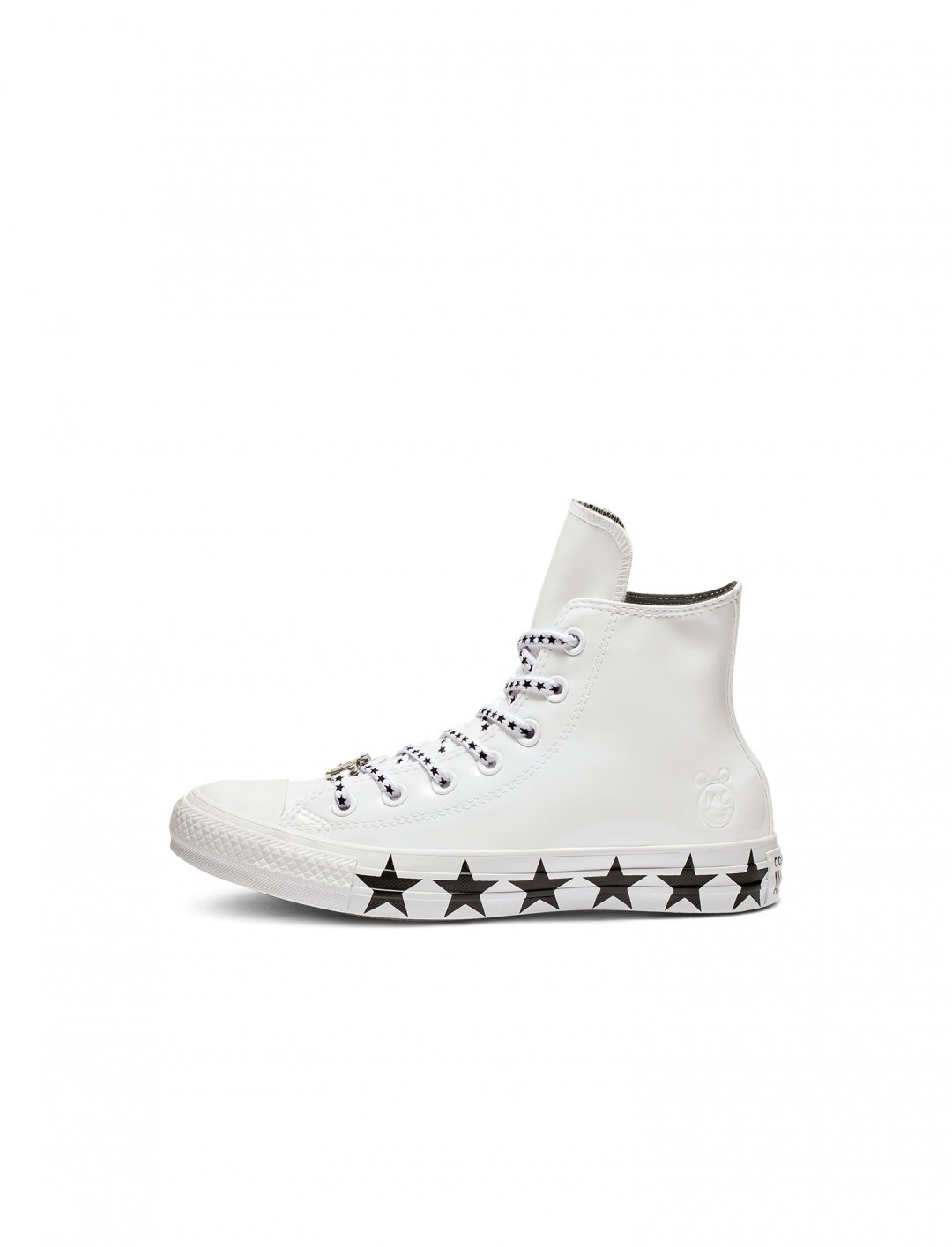 "High Top Trainers {""id"":12,""product_section_id"":1,""name"":""Shoes"",""order"":12} Miley Cyrus x Converse"