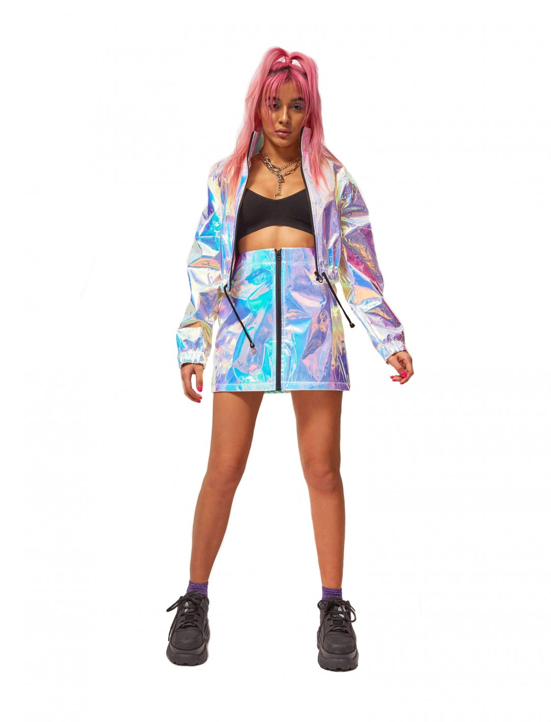 "Hologram Jacket {""id"":5,""product_section_id"":1,""name"":""Clothing"",""order"":5} Jaded London"
