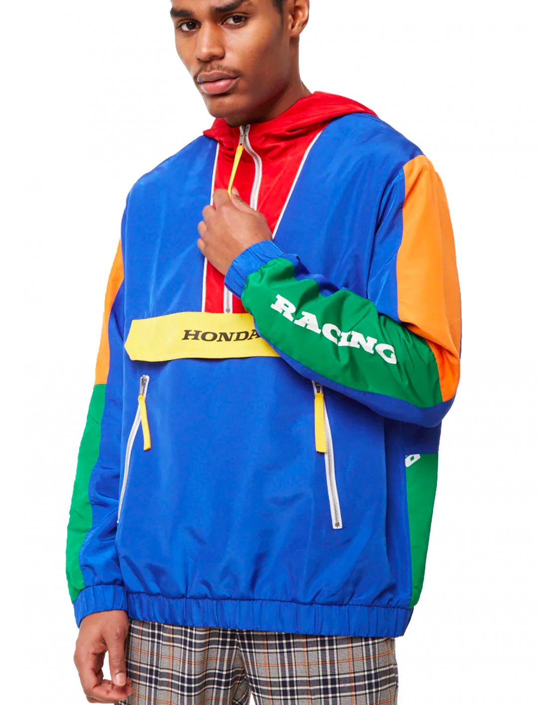 "Honda Anorak {""id"":5,""product_section_id"":1,""name"":""Clothing"",""order"":5} Forever 21"