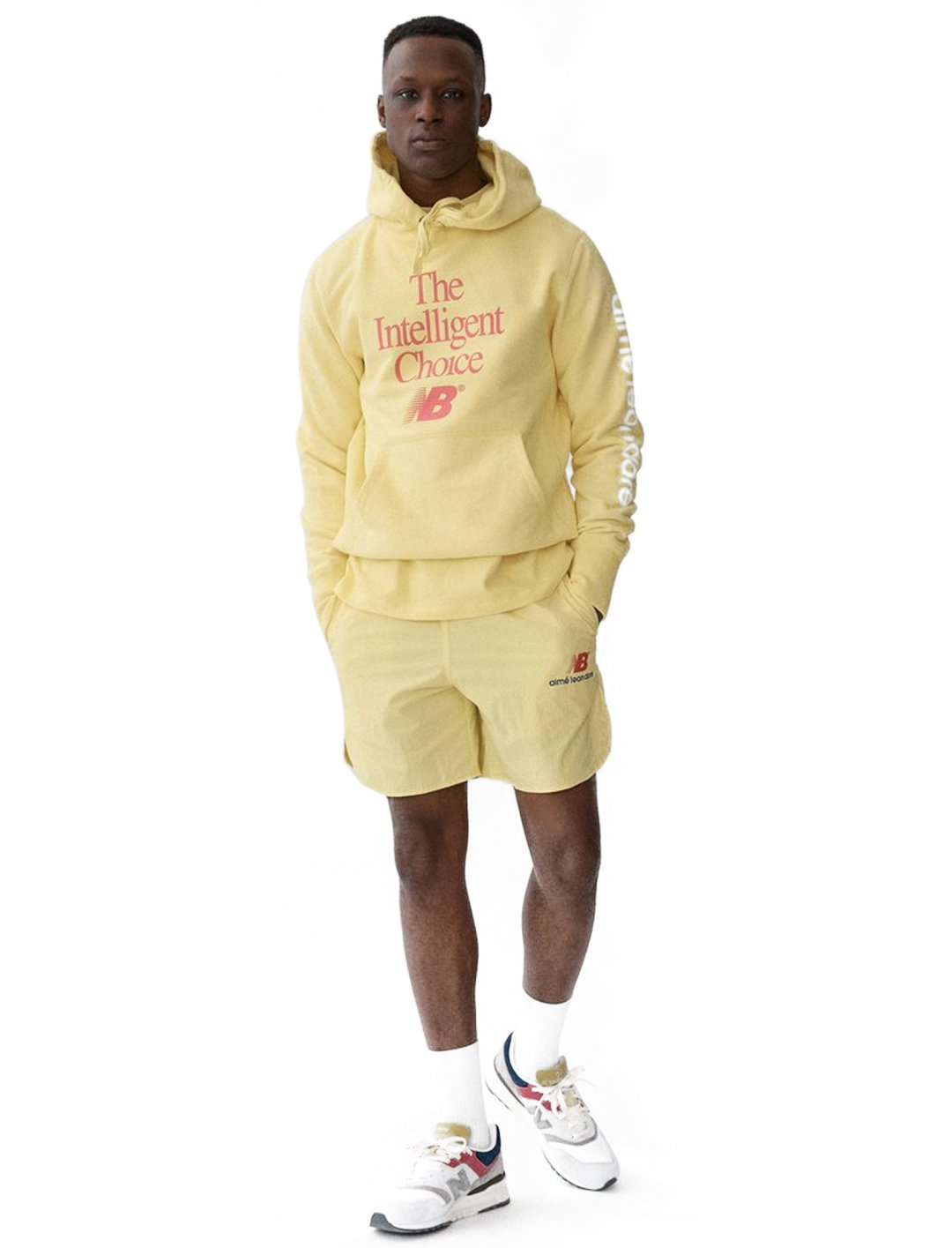 "Hoodie {""id"":5,""product_section_id"":1,""name"":""Clothing"",""order"":5} Aimé Leon Dore x New Balance"