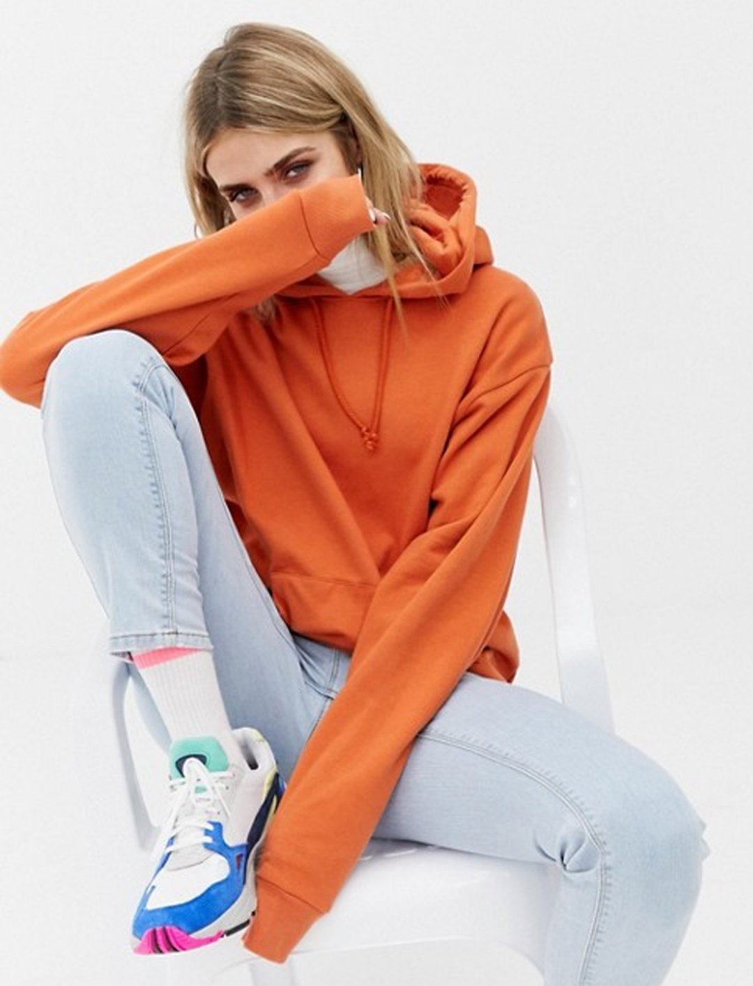 "Hoodie In Orange {""id"":5,""product_section_id"":1,""name"":""Clothing"",""order"":5} Collusion"