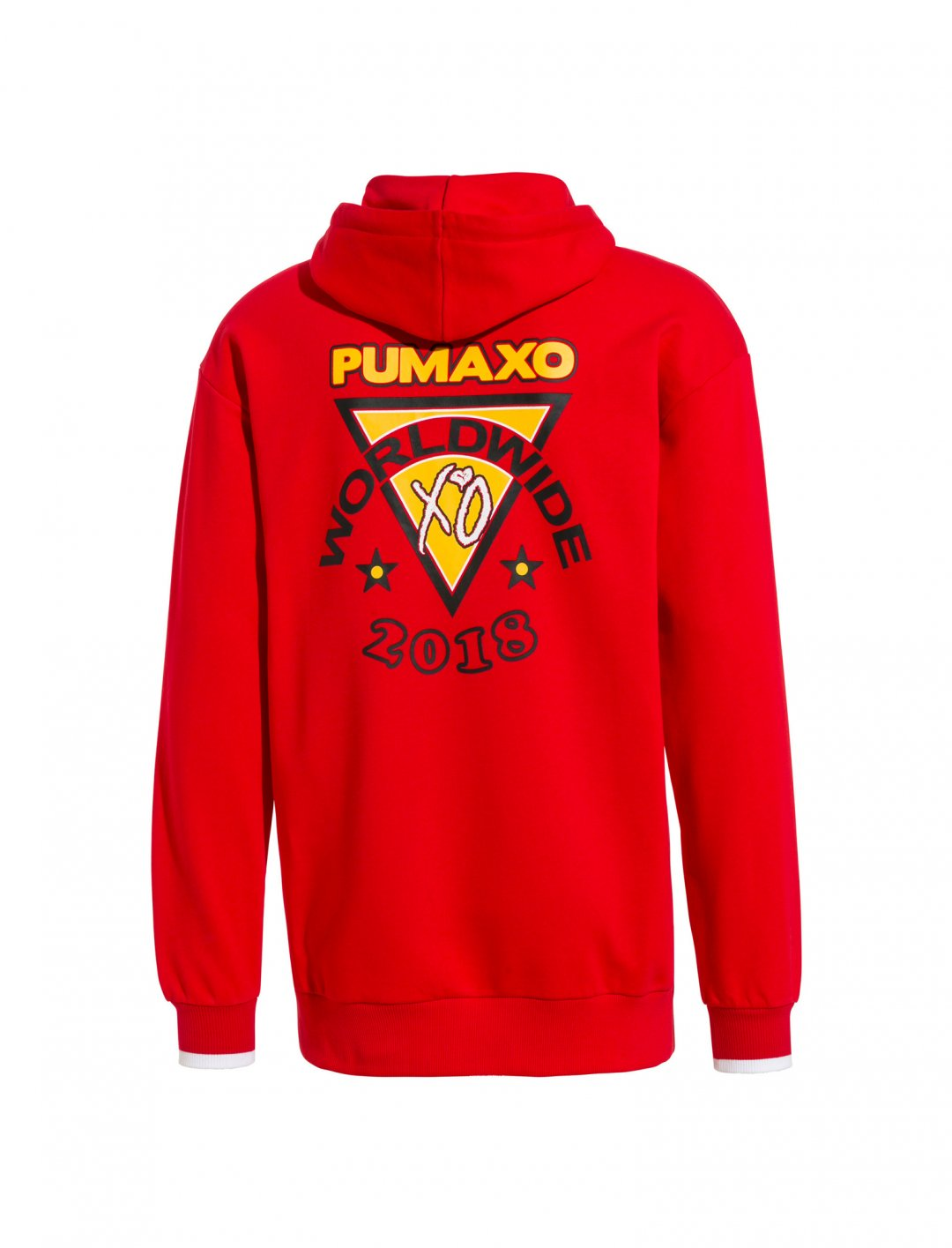 "Hoodie In Red {""id"":5,""product_section_id"":1,""name"":""Clothing"",""order"":5} Puma x XO"