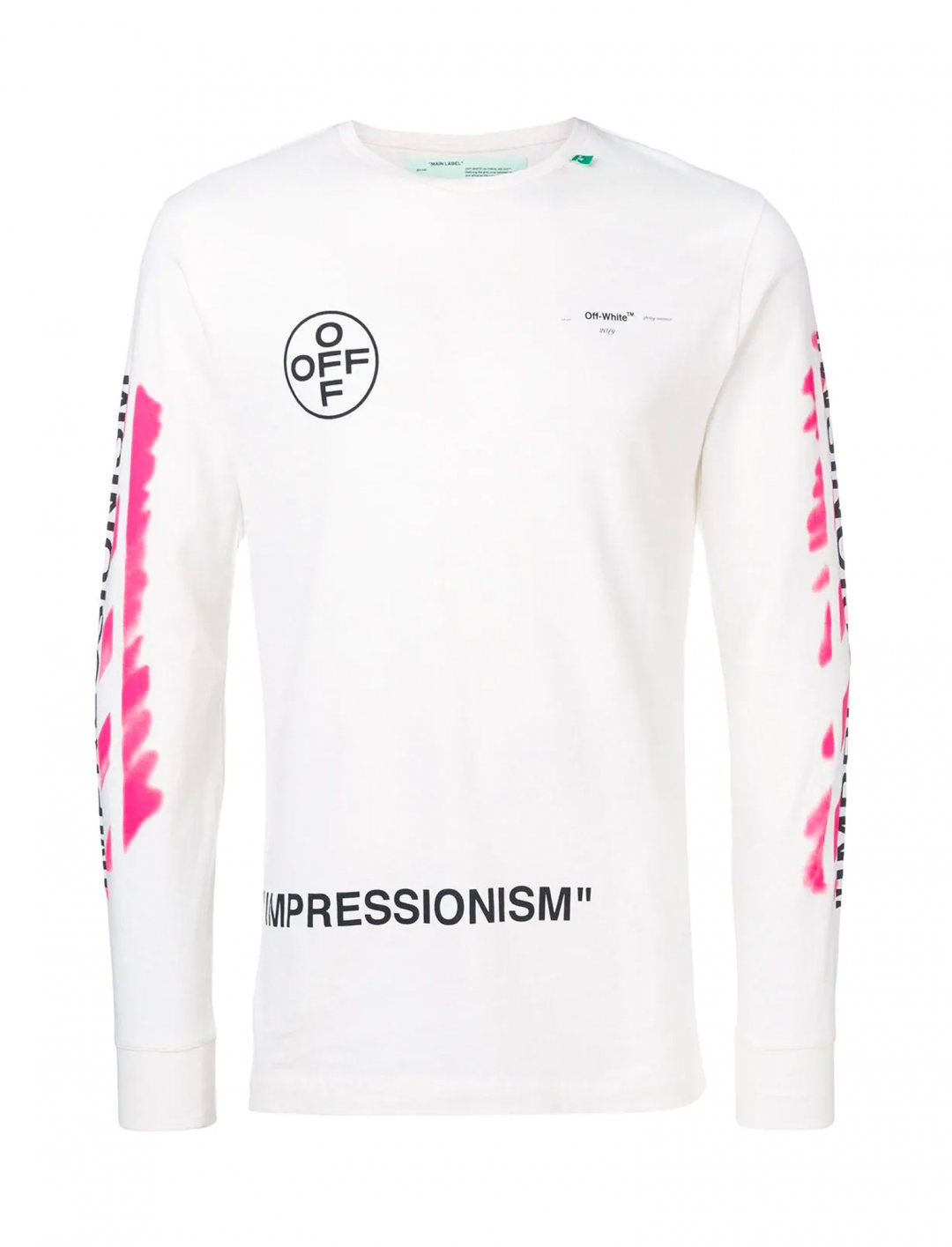 "Impressionism Sweatshirt {""id"":5,""product_section_id"":1,""name"":""Clothing"",""order"":5} Off-White"