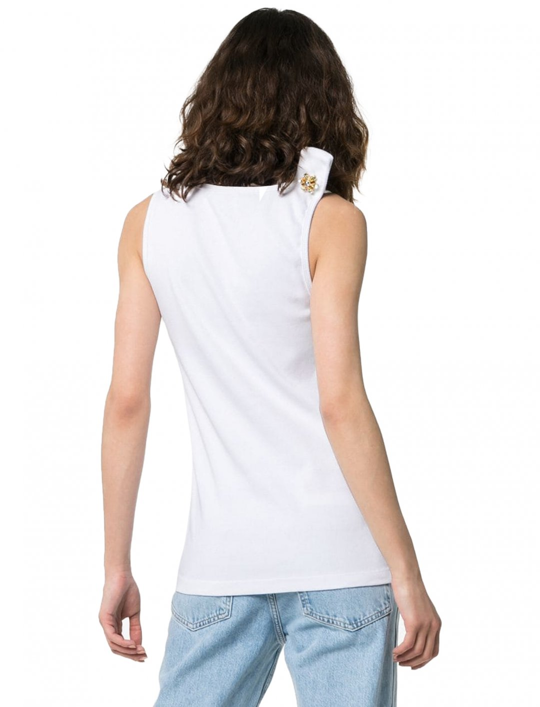 "Jaws Logo Vest Top {""id"":5,""product_section_id"":1,""name"":""Clothing"",""order"":5} Calvin Klein"