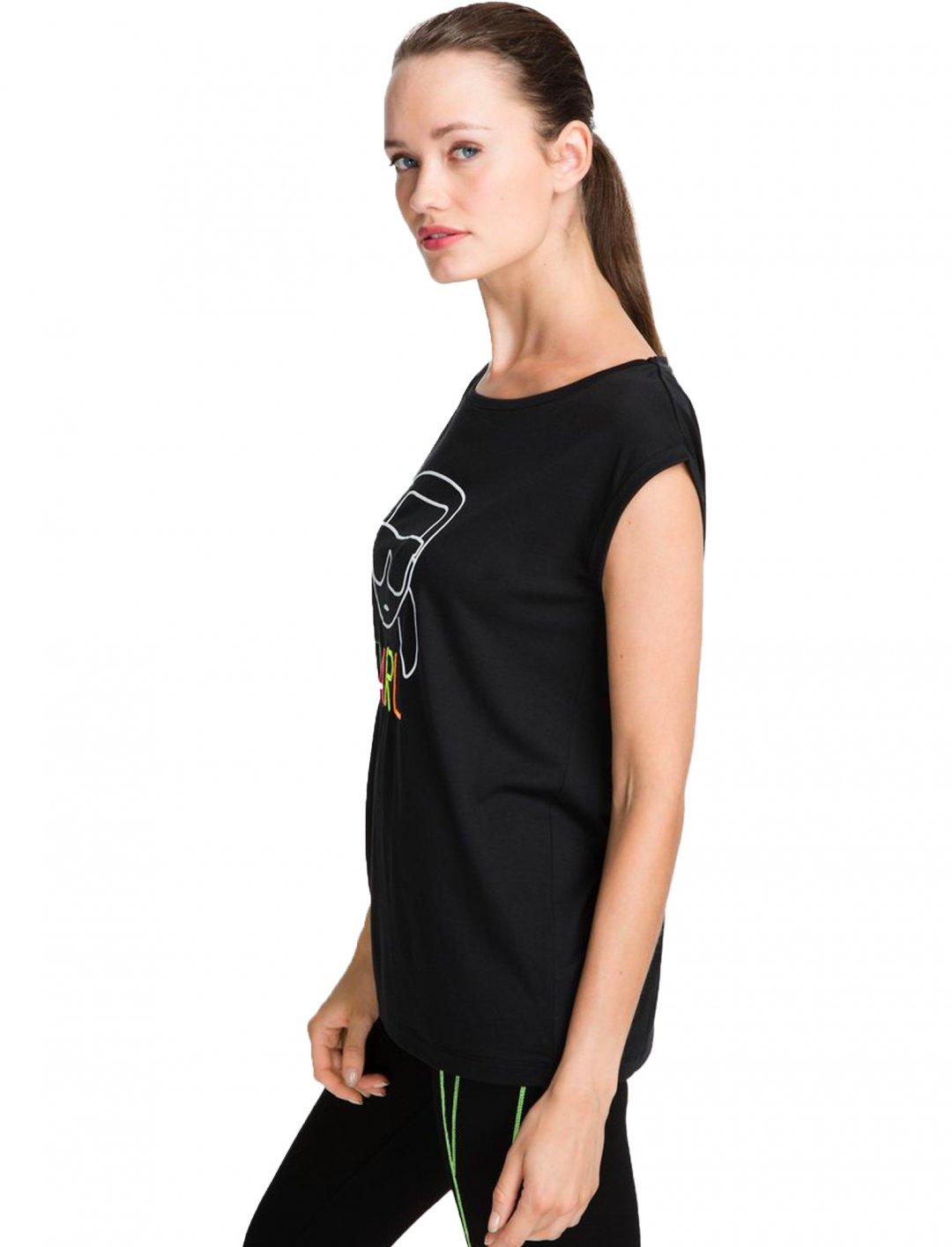 "Karl Outline T-shirt {""id"":5,""product_section_id"":1,""name"":""Clothing"",""order"":5} Karl Lagerfeld"